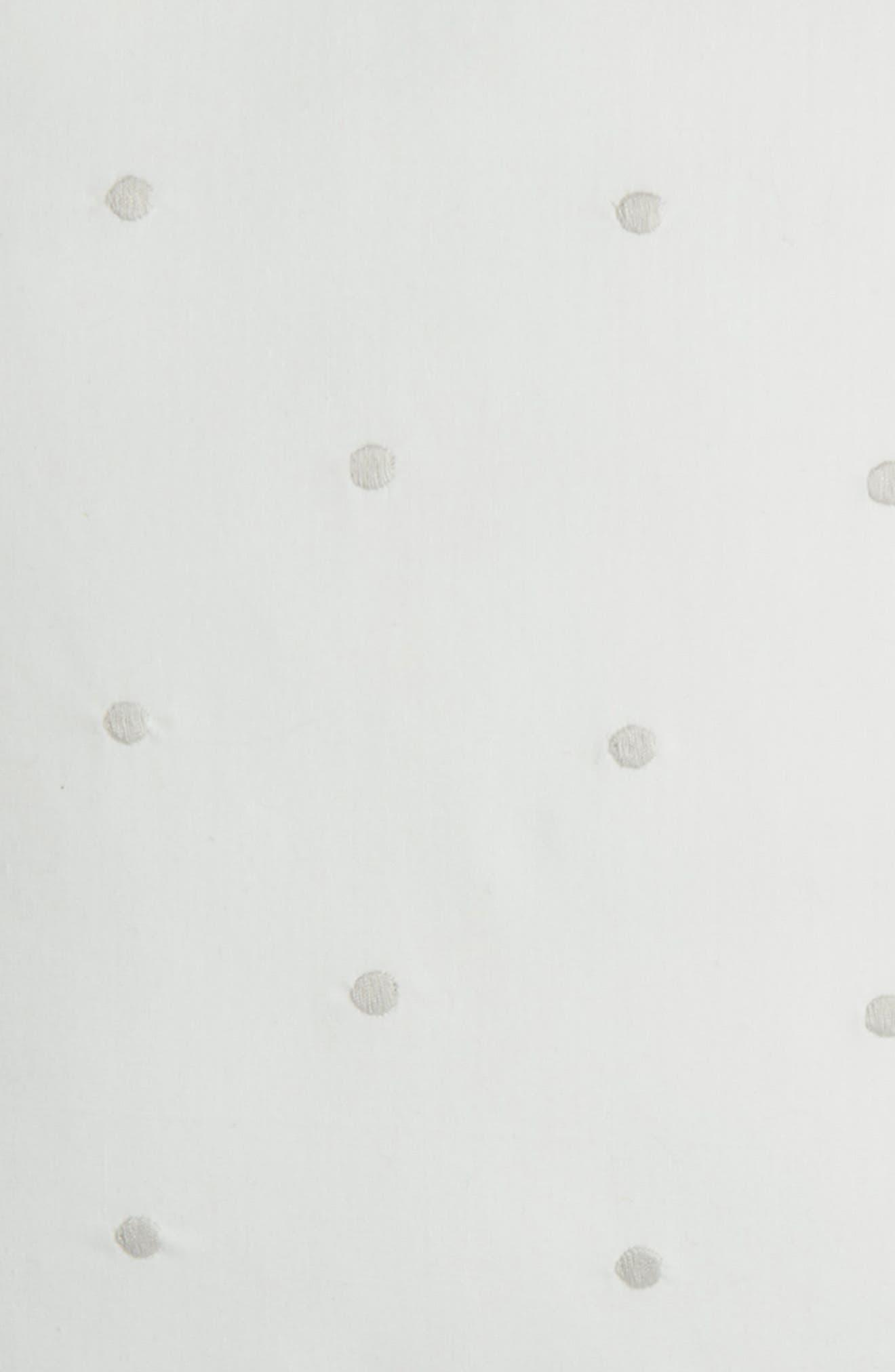 binki dot accent pillow,                             Alternate thumbnail 3, color,                             WHITE/ PLATINUM