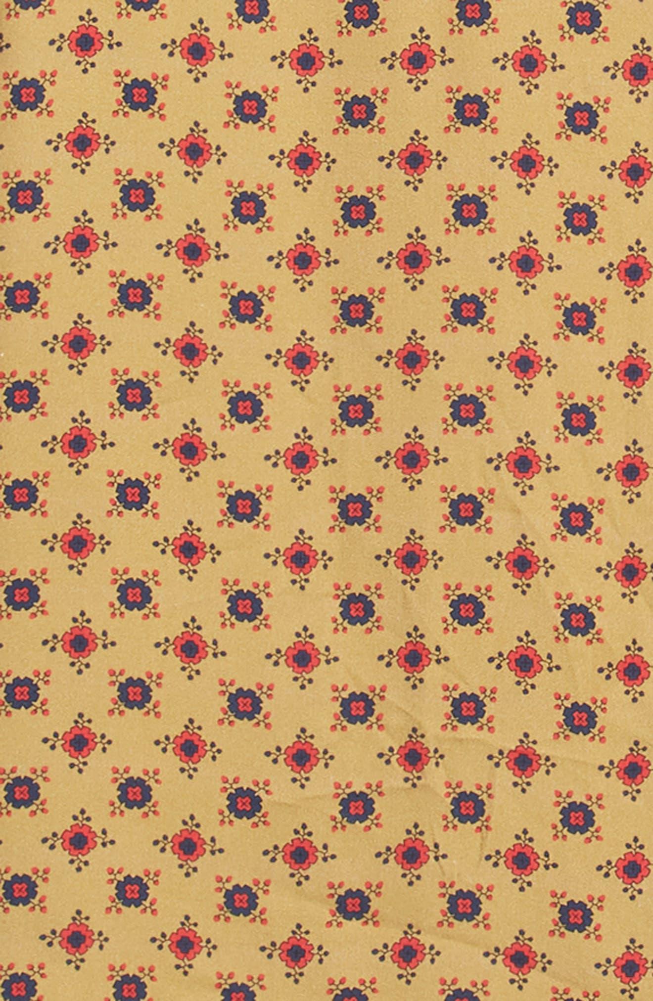 Nonna Wall Long Sleeve Woven Shirt,                             Alternate thumbnail 6, color,                             KHAKI