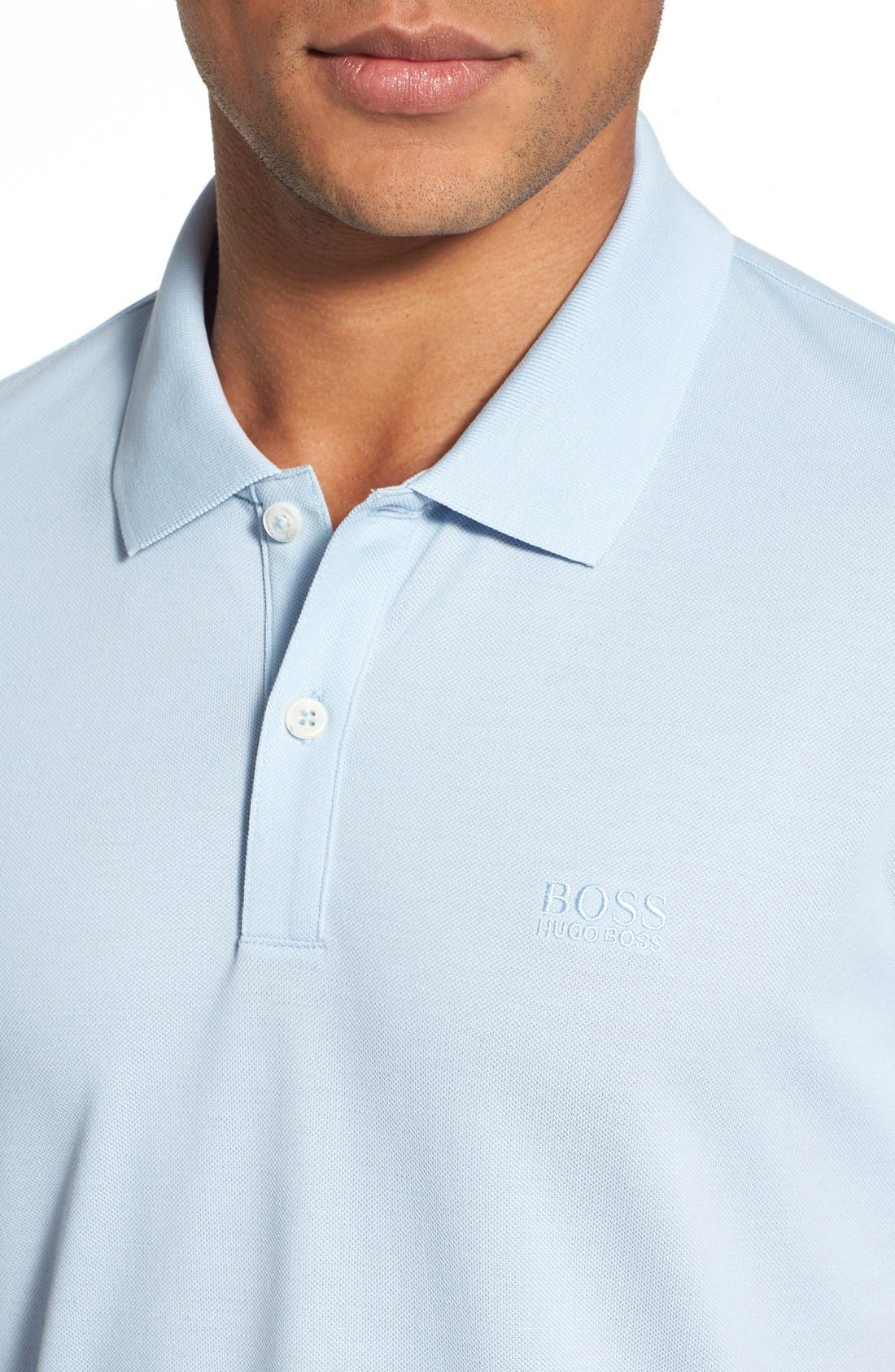 'Pallas' Regular Fit Logo Embroidered Polo Shirt,                             Alternate thumbnail 29, color,
