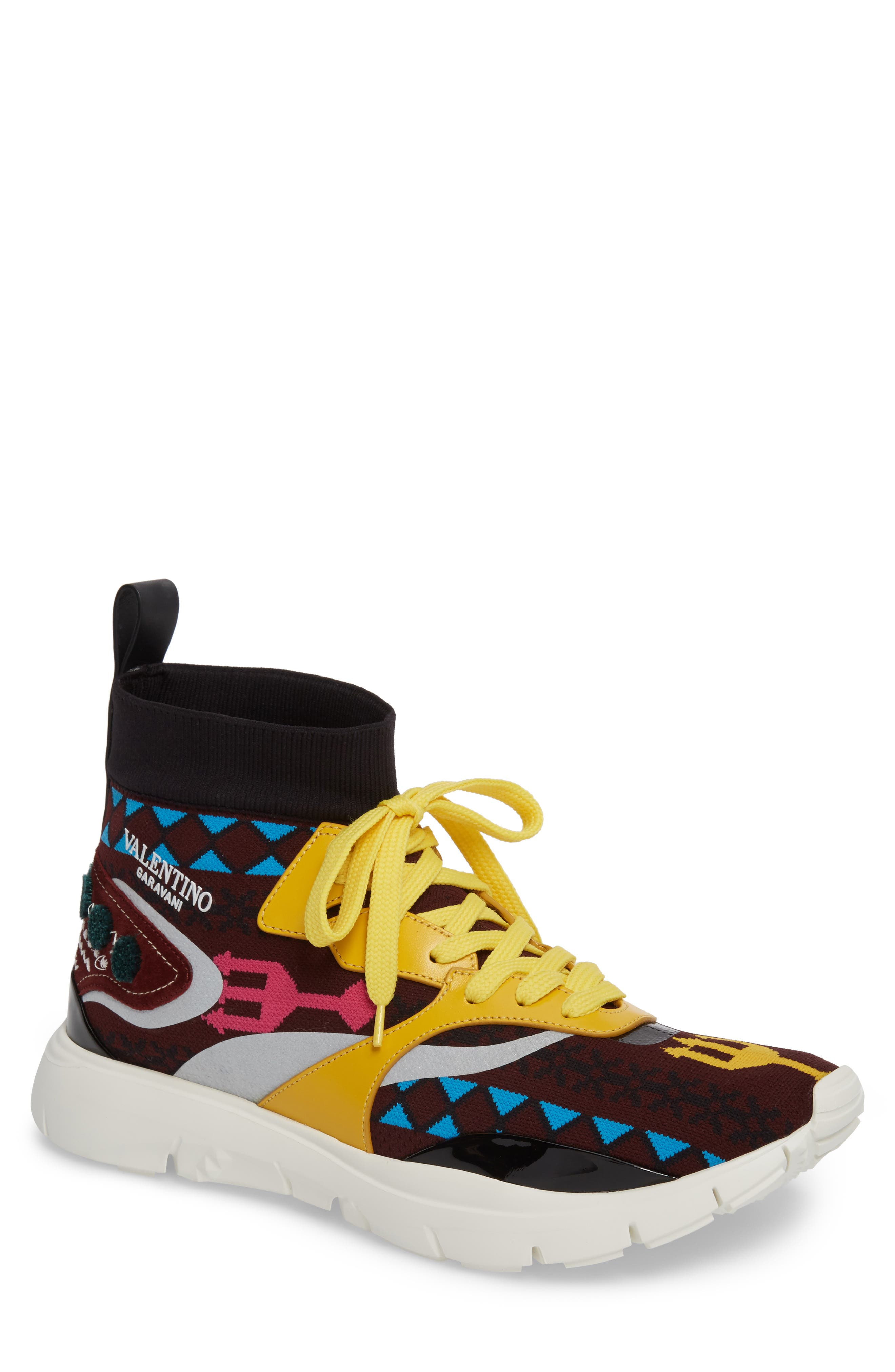 Heroes Embroidery Sneaker,                             Main thumbnail 1, color,                             939