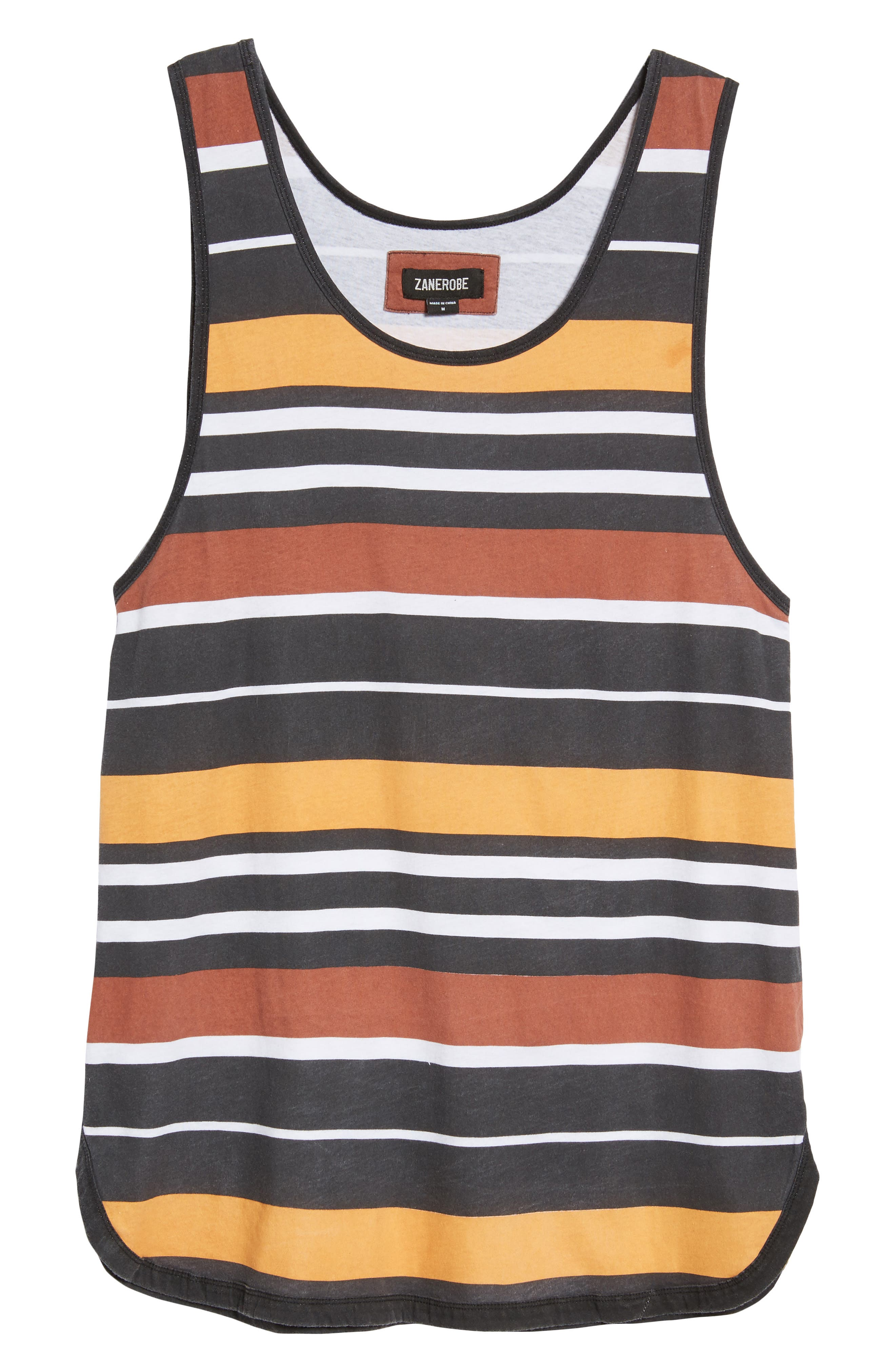 Rugby Stripe Rugger Tank,                             Alternate thumbnail 4, color,