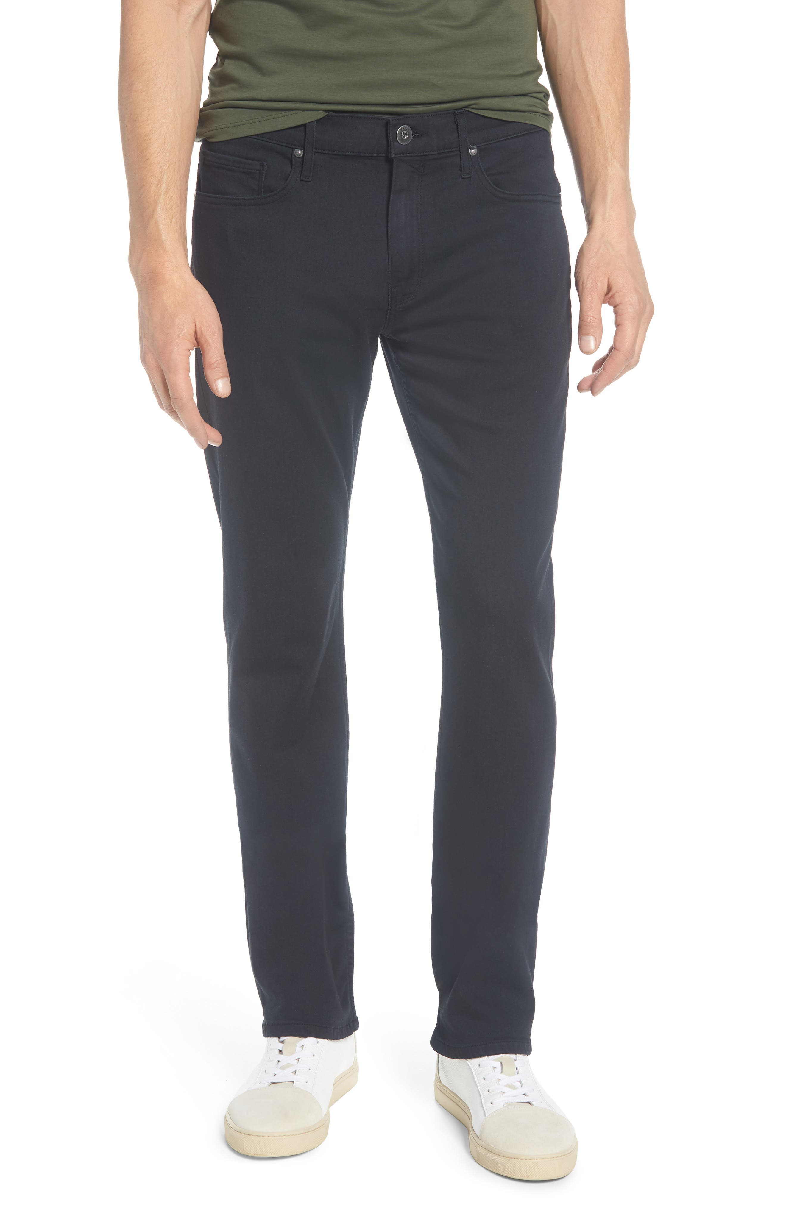 PAIGE Normandie Straight Leg Jeans, Main, color, 400