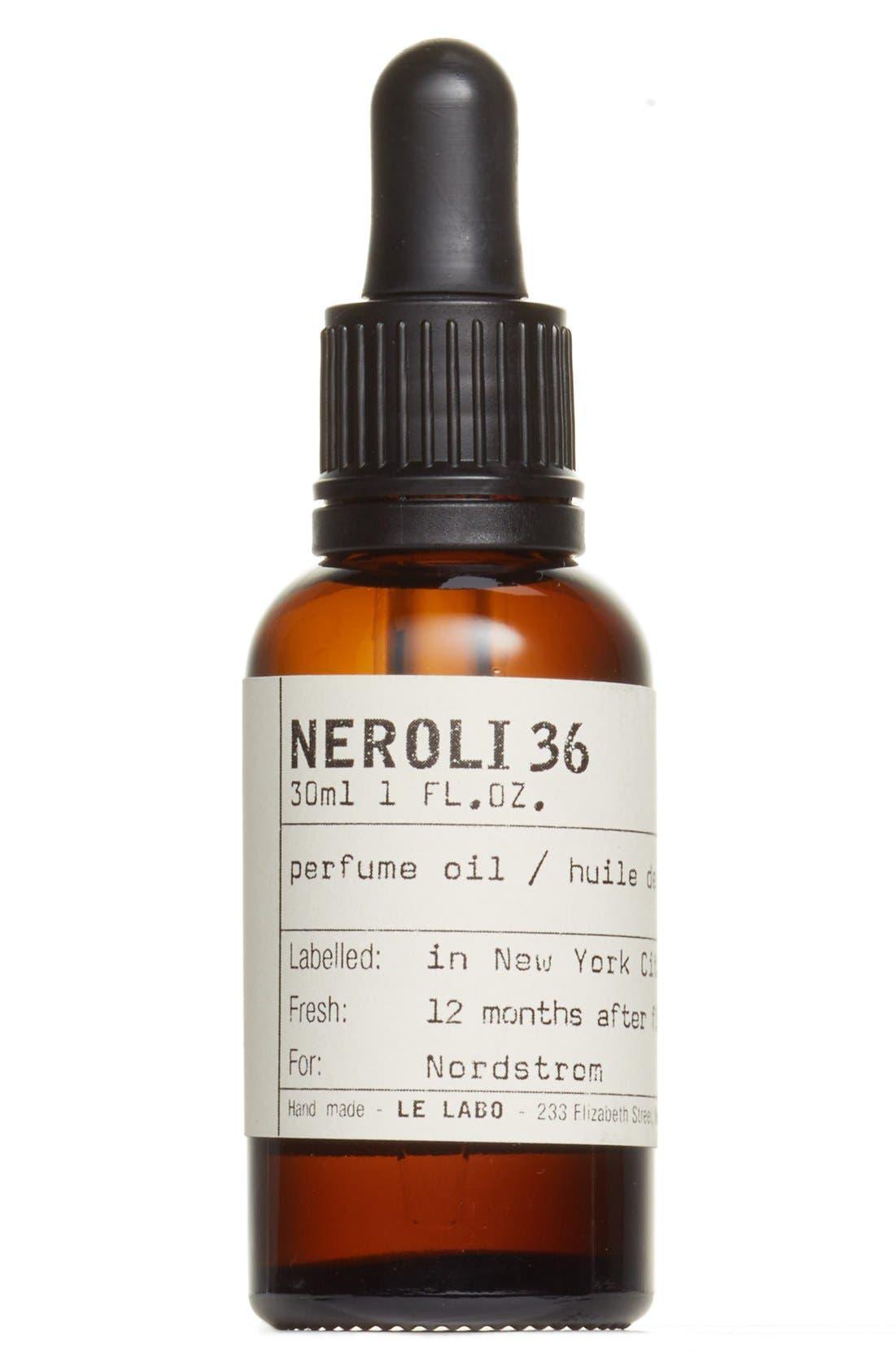 'Neroli 36' Perfume Oil,                             Main thumbnail 1, color,                             NO COLOR