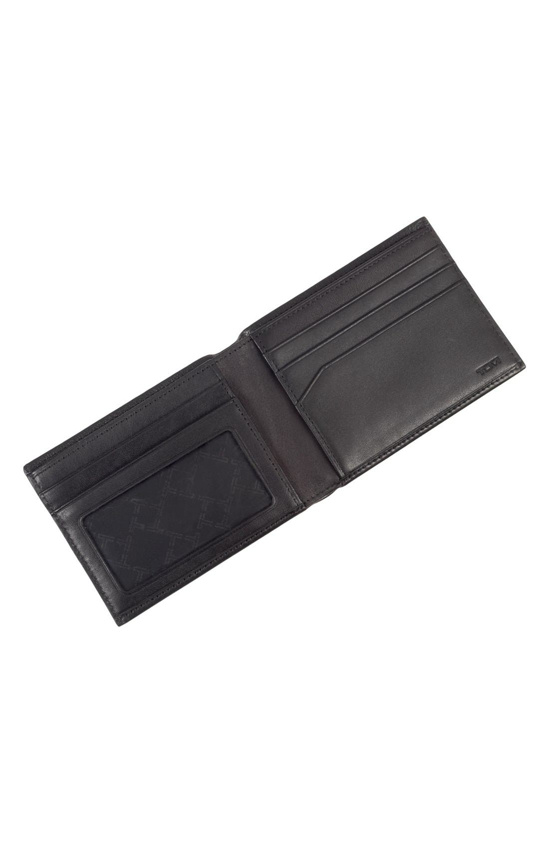 'Rivington' Leather Wallet,                             Alternate thumbnail 4, color,                             001