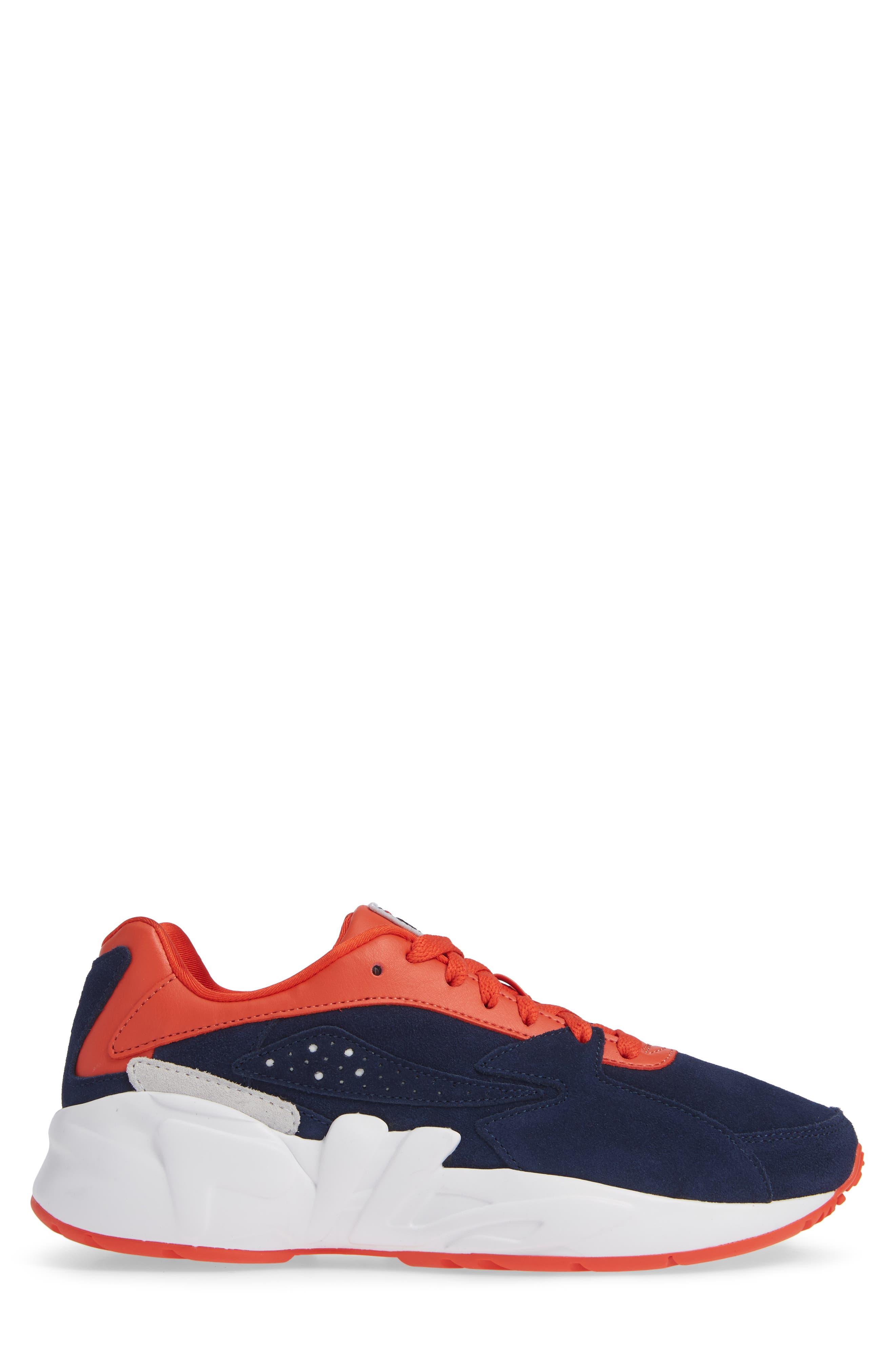 Mindblower Sneaker,                             Alternate thumbnail 3, color,                             NAVY/ WHITE/ RED