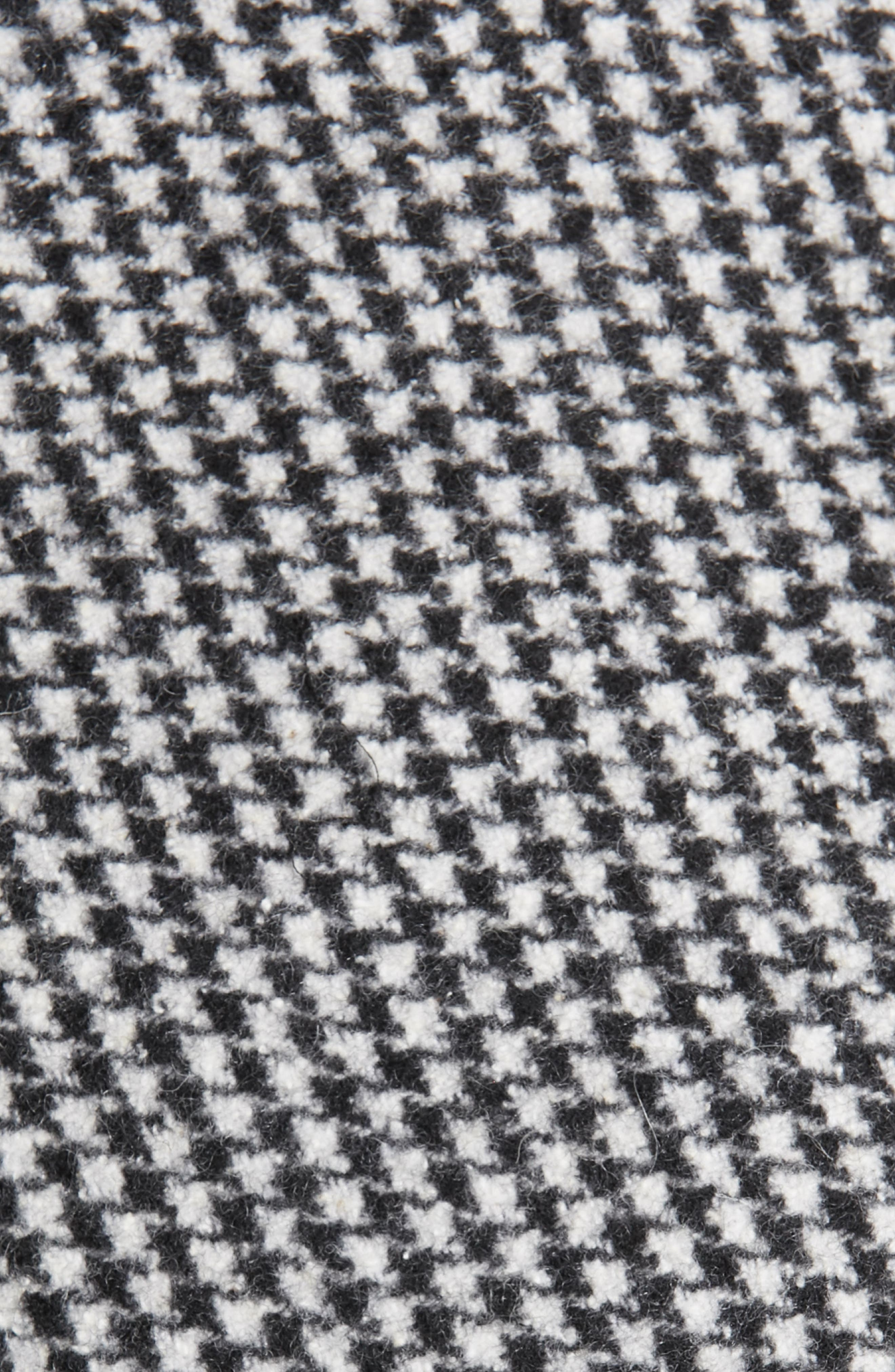 Houndstooth Crop Jacket,                             Alternate thumbnail 6, color,                             LARGE X SMALL
