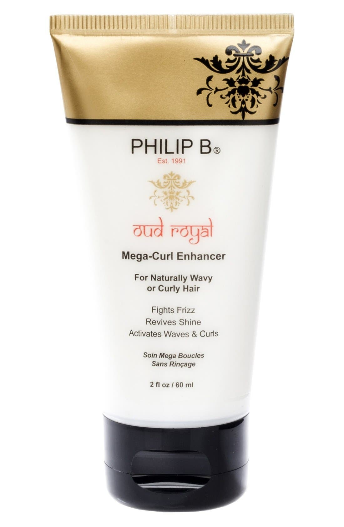 SPACE.NK.apothecary PHILIP B<sup>®</sup> Oud Royal Mega-Curl Enhancer,                             Alternate thumbnail 2, color,                             000