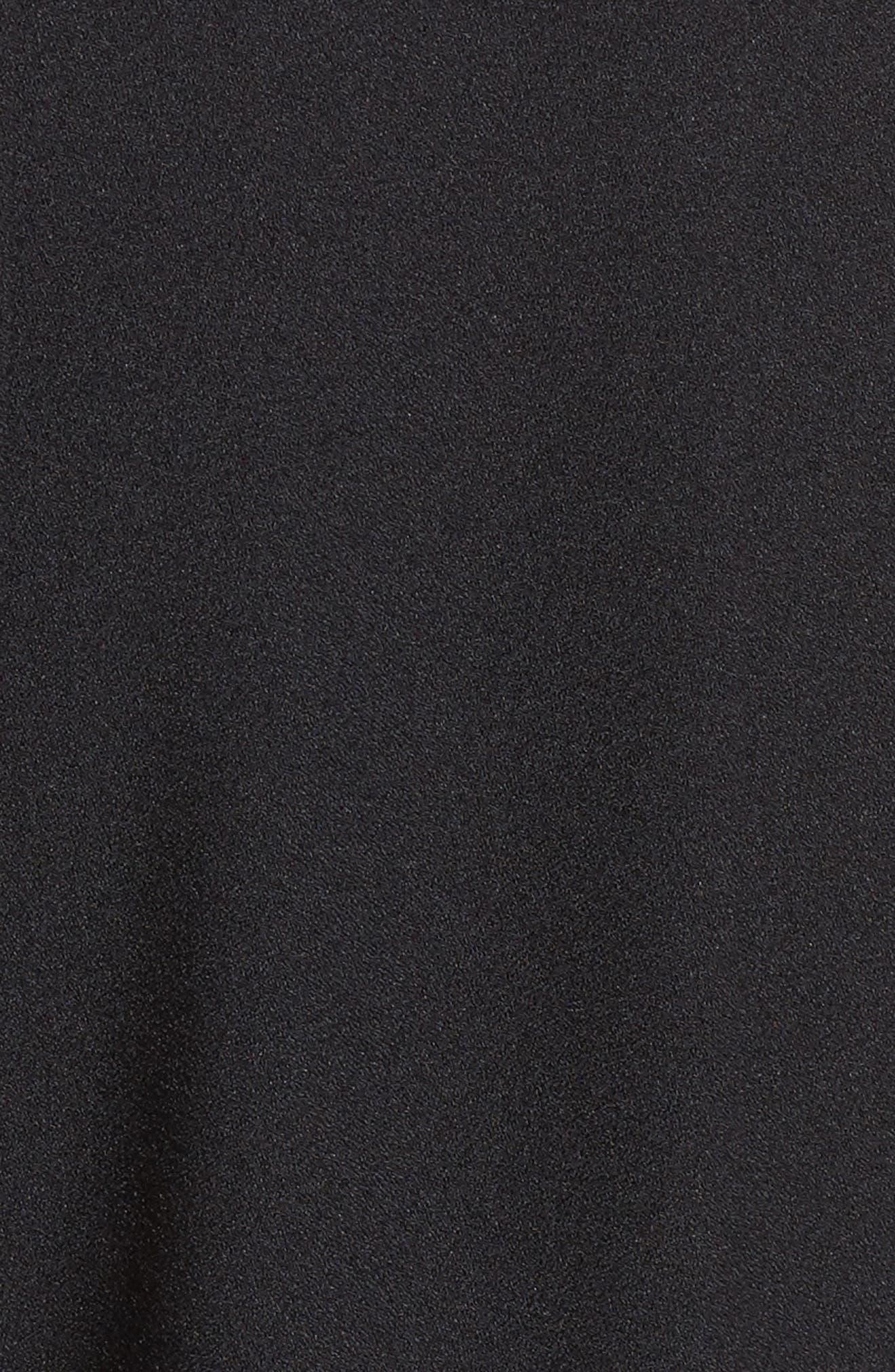 Ruffle Jumpsuit,                             Alternate thumbnail 5, color,                             001