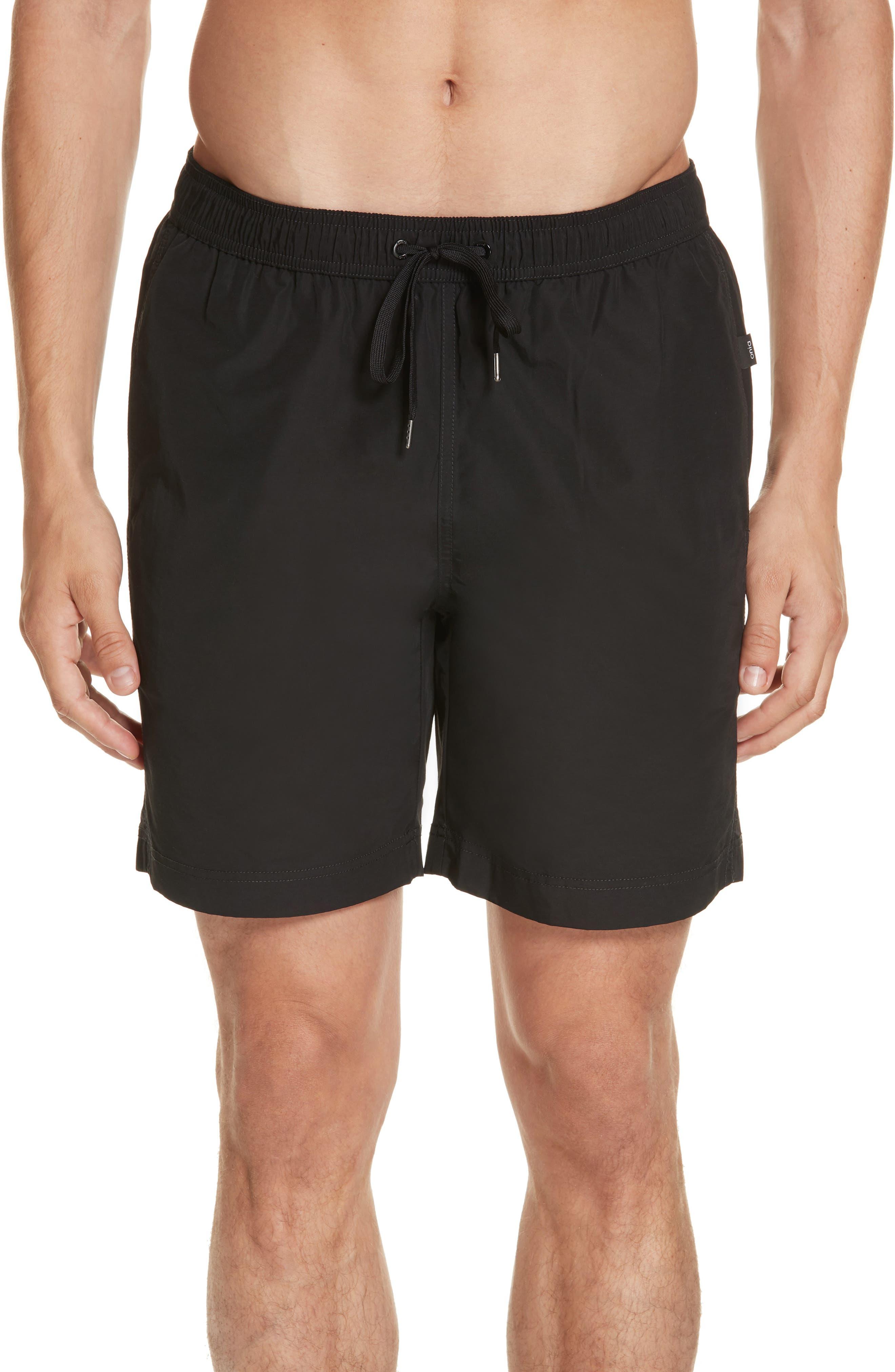 Charles Swim Trunks,                         Main,                         color, BLACK