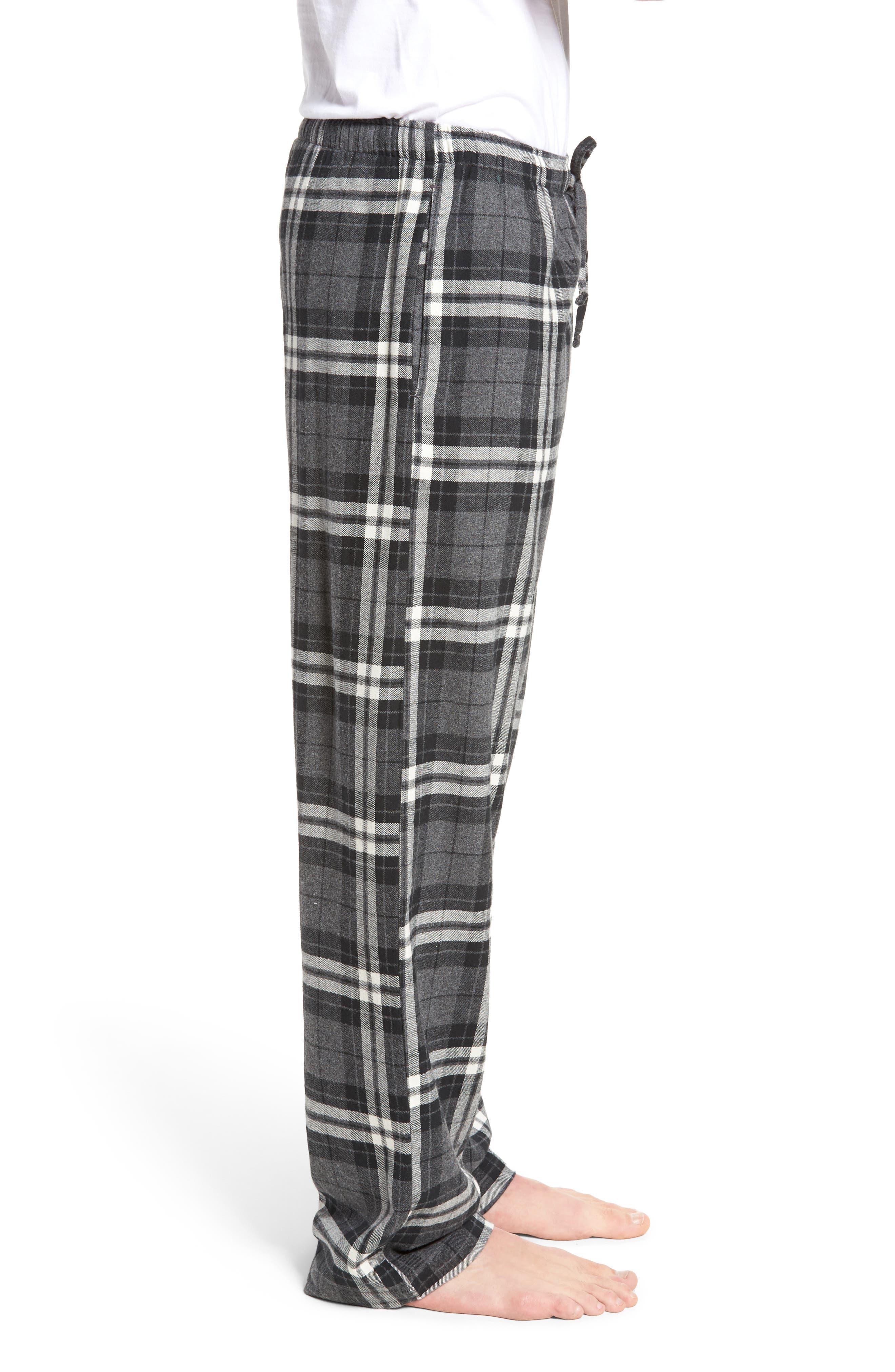 Flannel Pajama Pants,                             Alternate thumbnail 30, color,