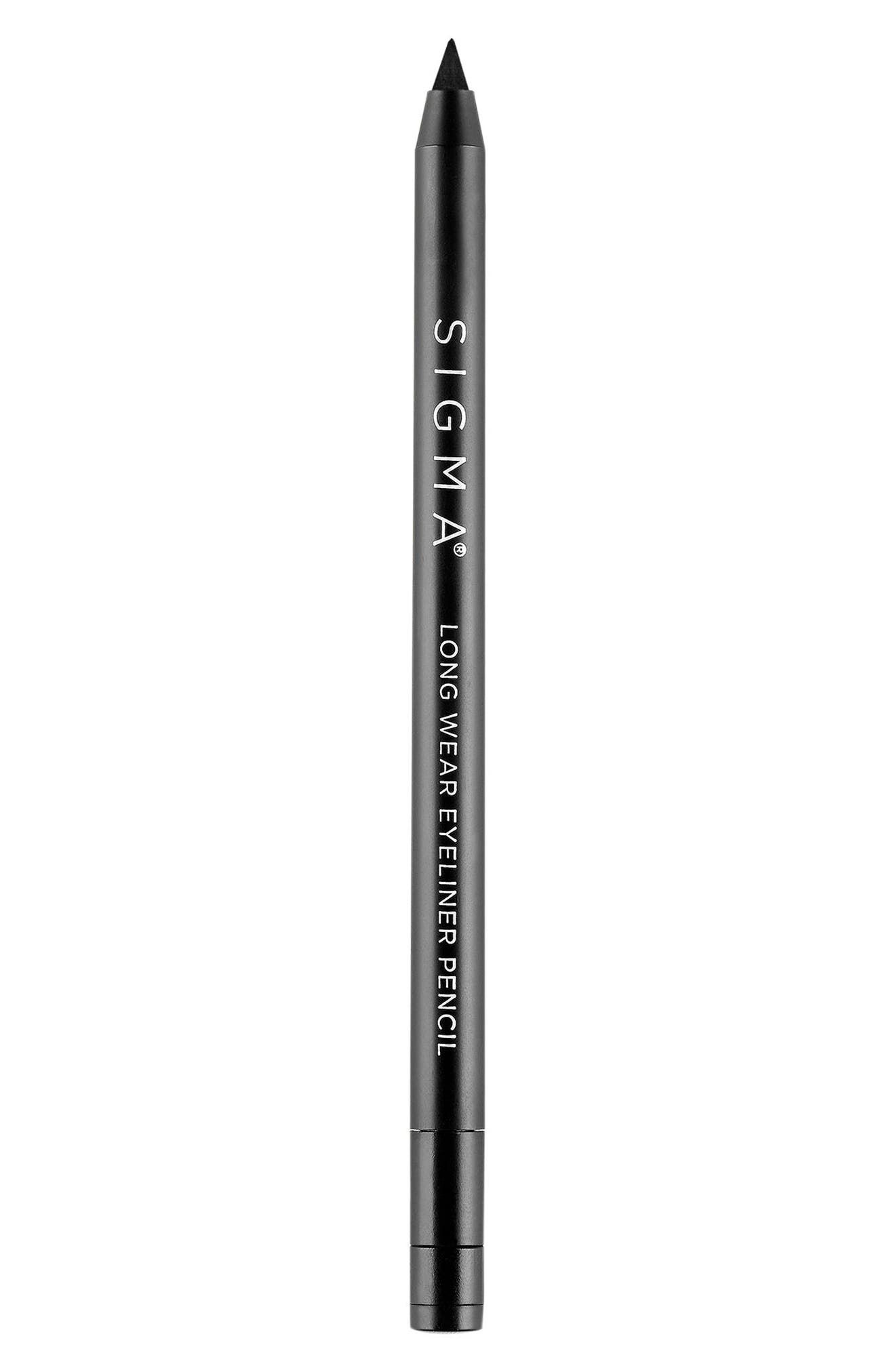 SIGMA BEAUTY,                             Wicked Long Wear Pencil Eyeliner,                             Alternate thumbnail 2, color,                             BLACK