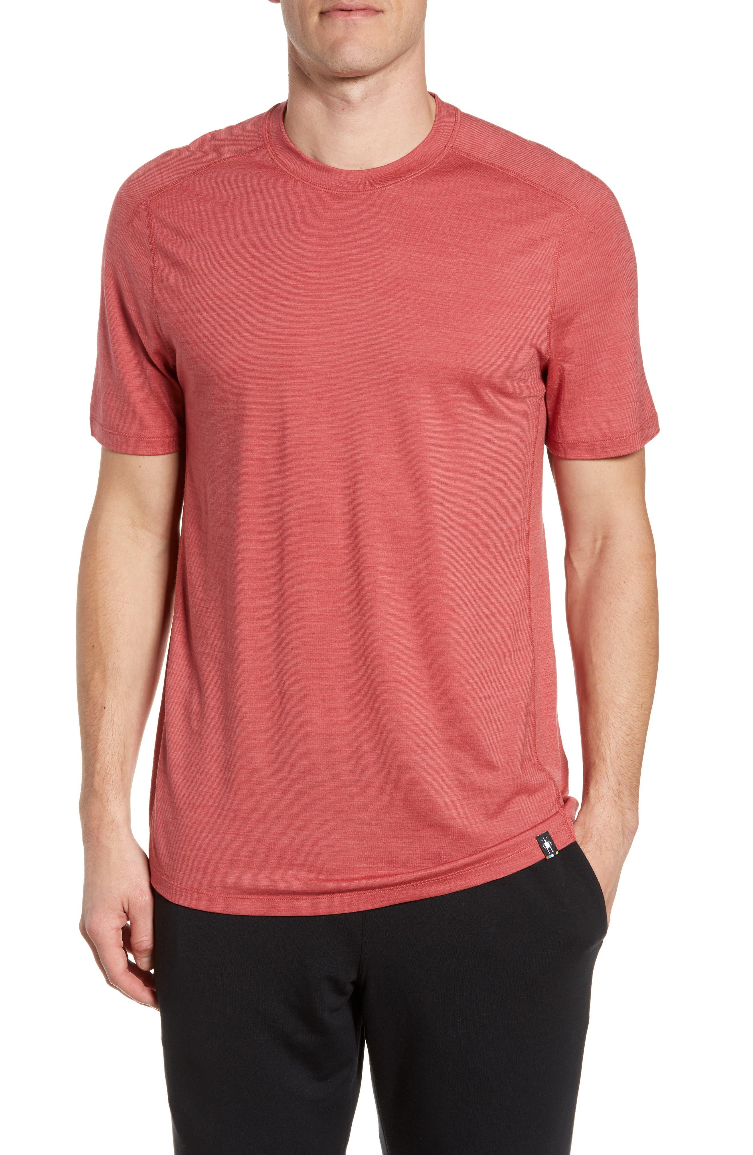 Smartwool Merino Blend Tech T-Shirt, Red