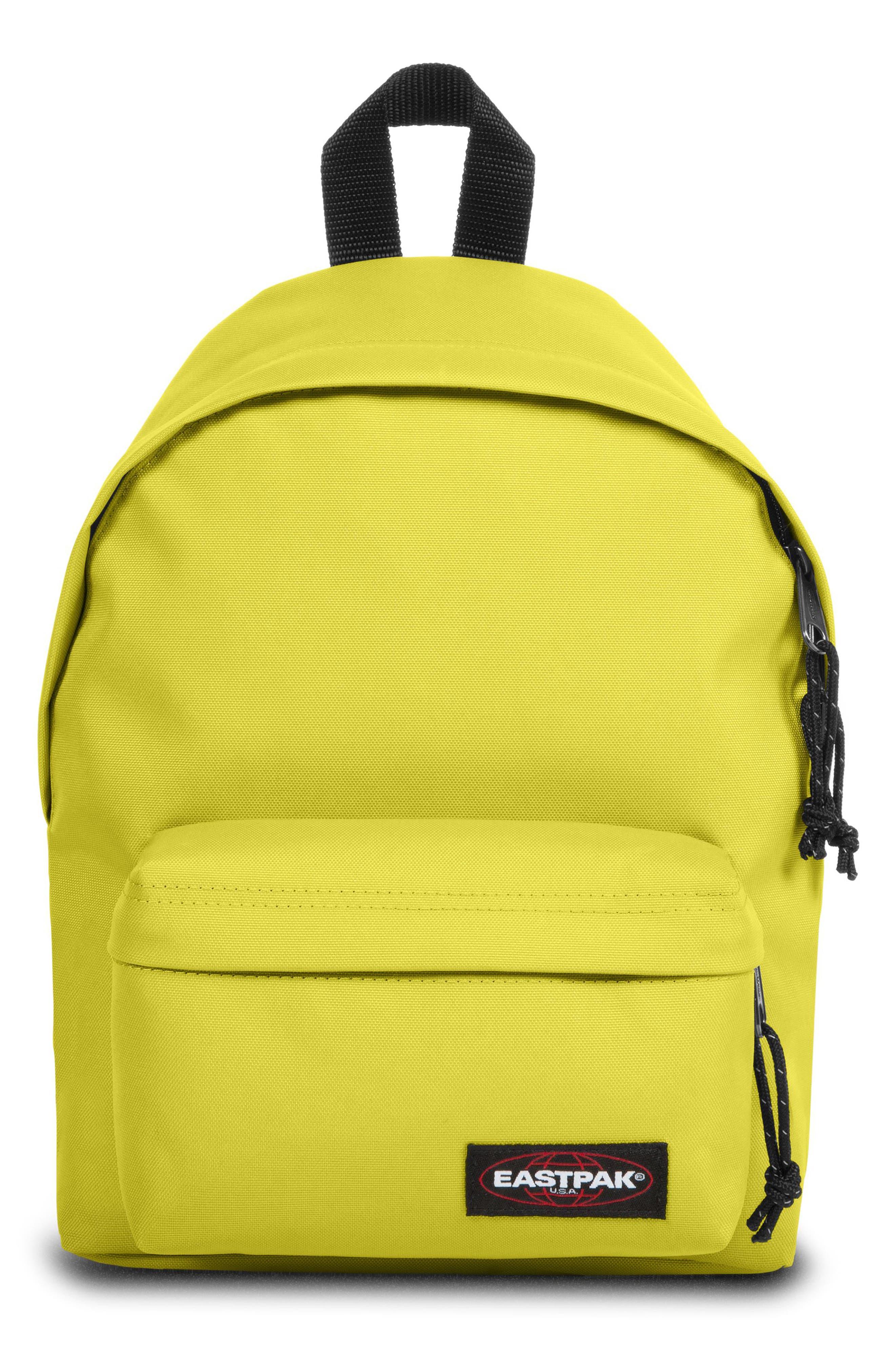 Eastpack Orbit Canvas Backpack - Yellow