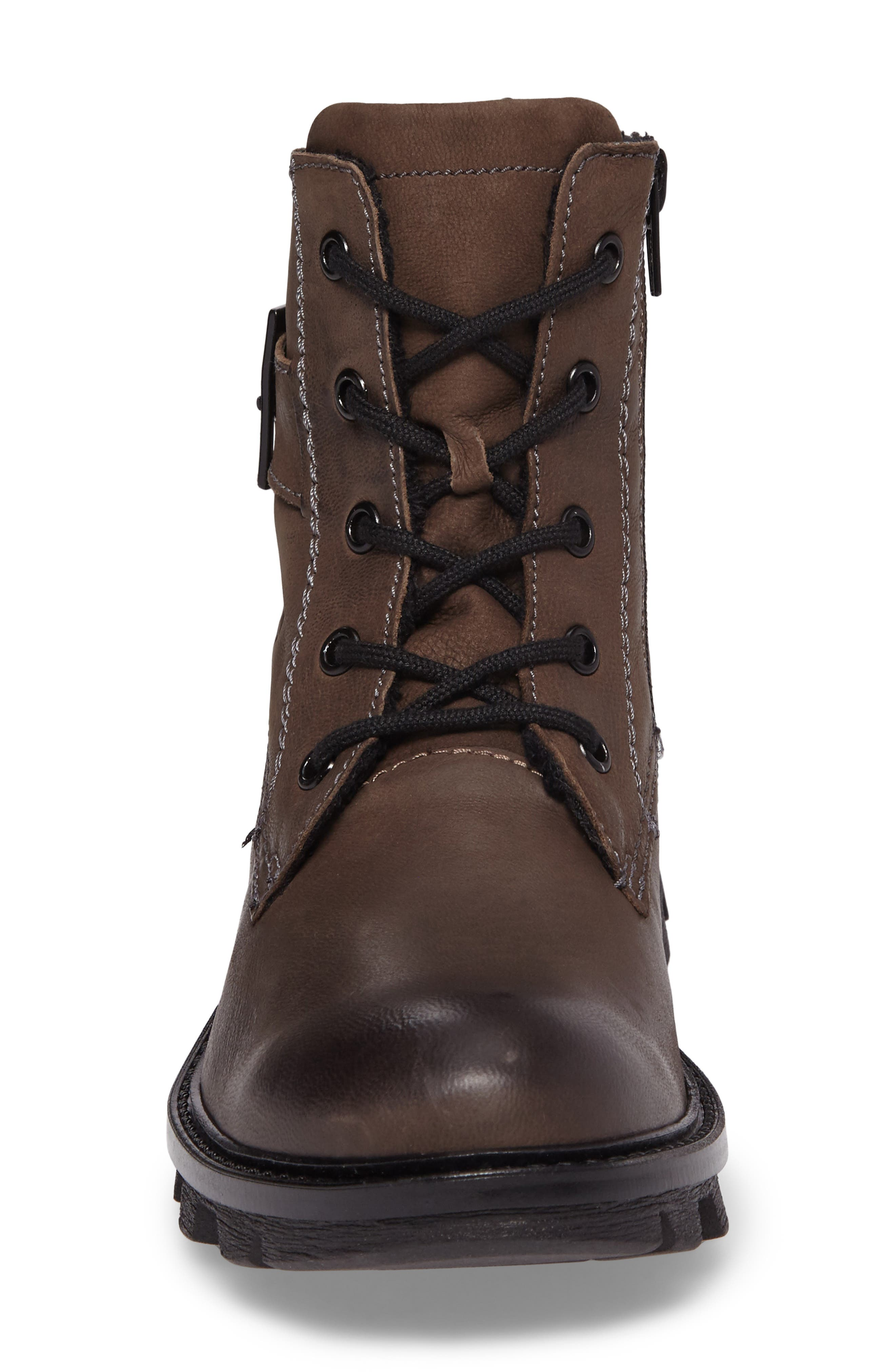 Marilyn Boot,                             Alternate thumbnail 4, color,                             ANTHRACITE LEATHER