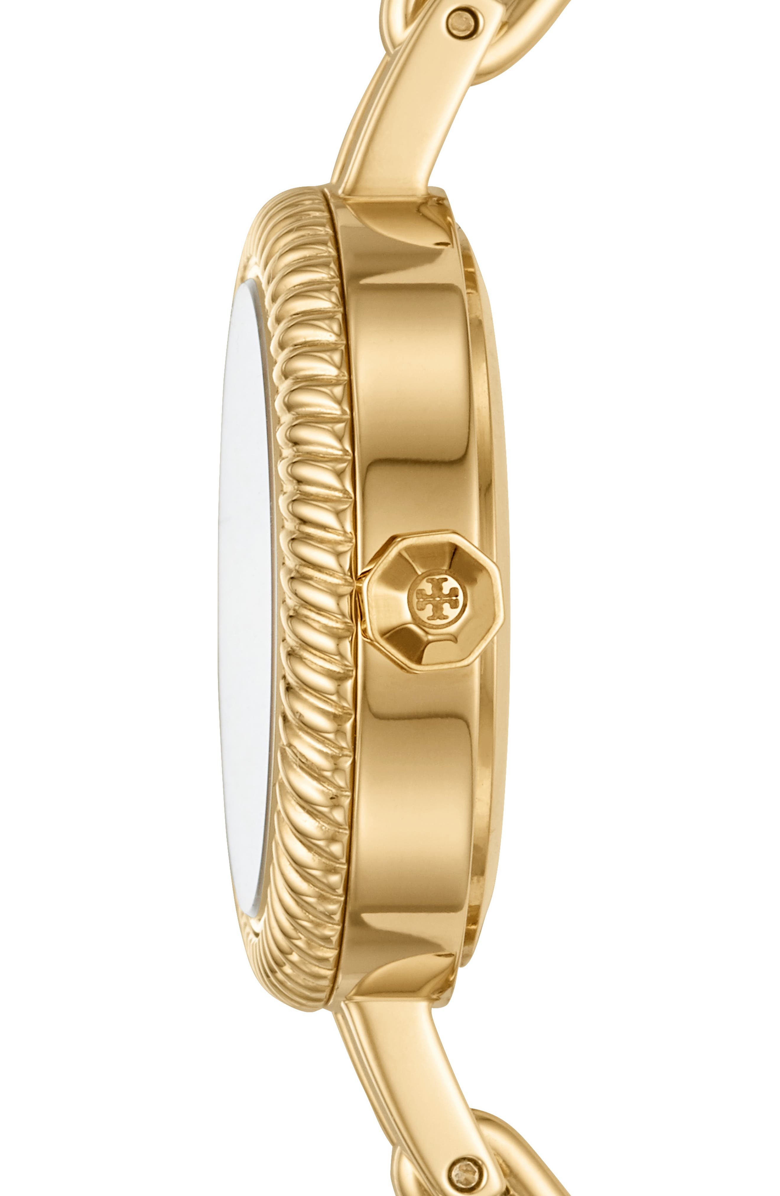 The Reva Bangle Watch Set, 29mm,                             Alternate thumbnail 2, color,                             GOLD/ MOP/ PINK/ RED/ BLUE