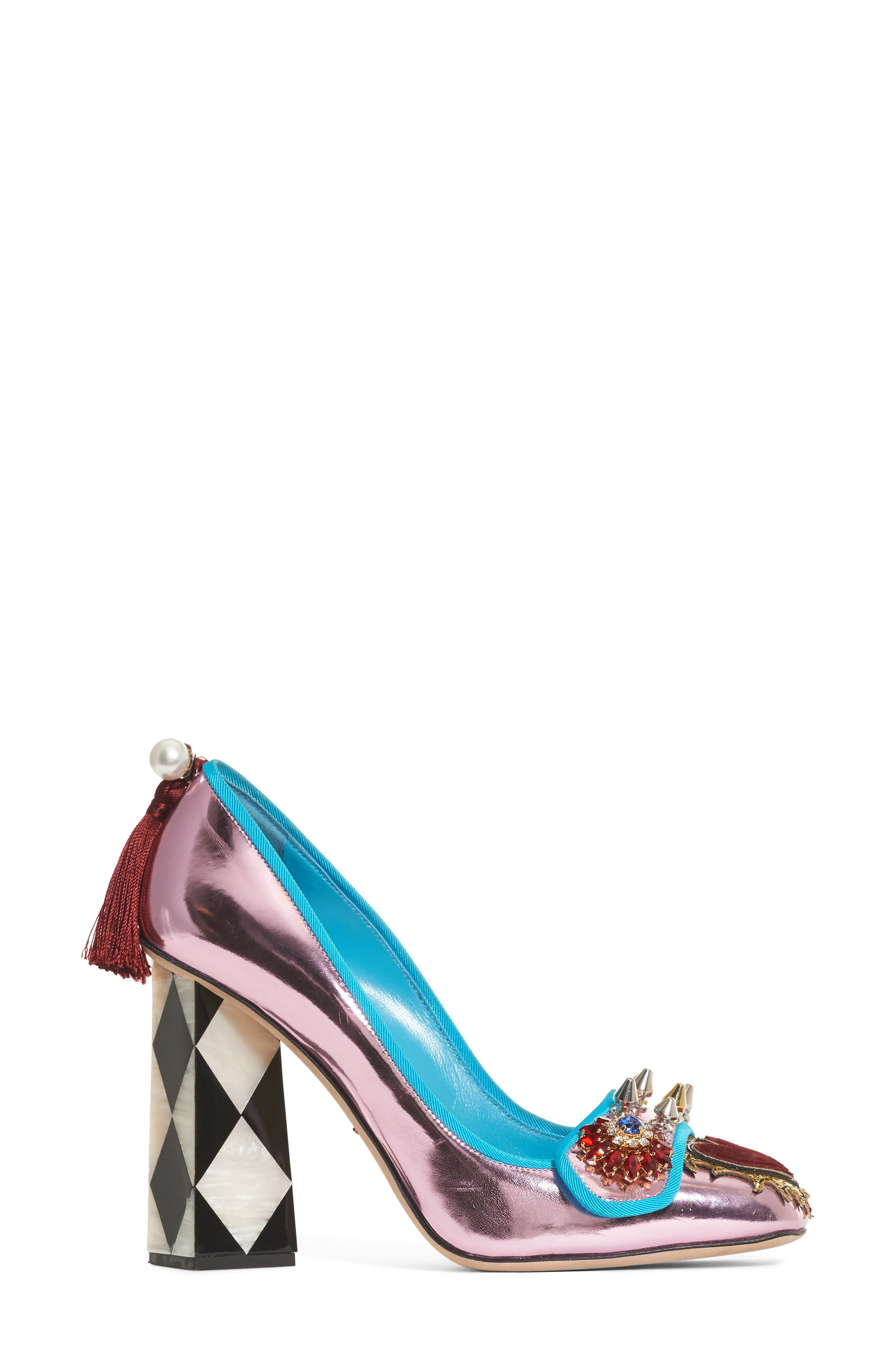 Mother of Pearl Pump,                             Alternate thumbnail 4, color,                             040