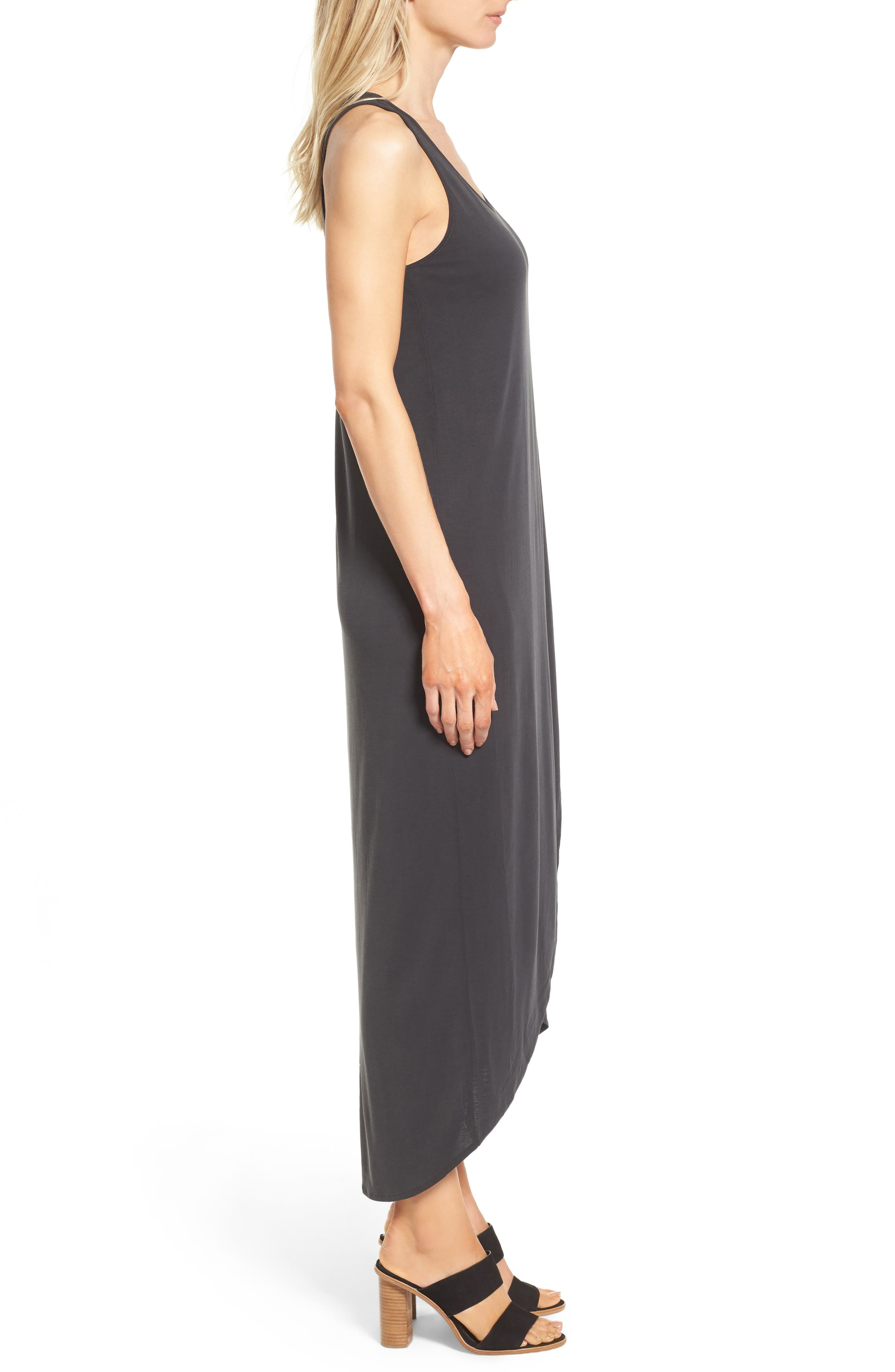 Boardwalk Jersey Maxi Dress,                             Alternate thumbnail 3, color,                             006