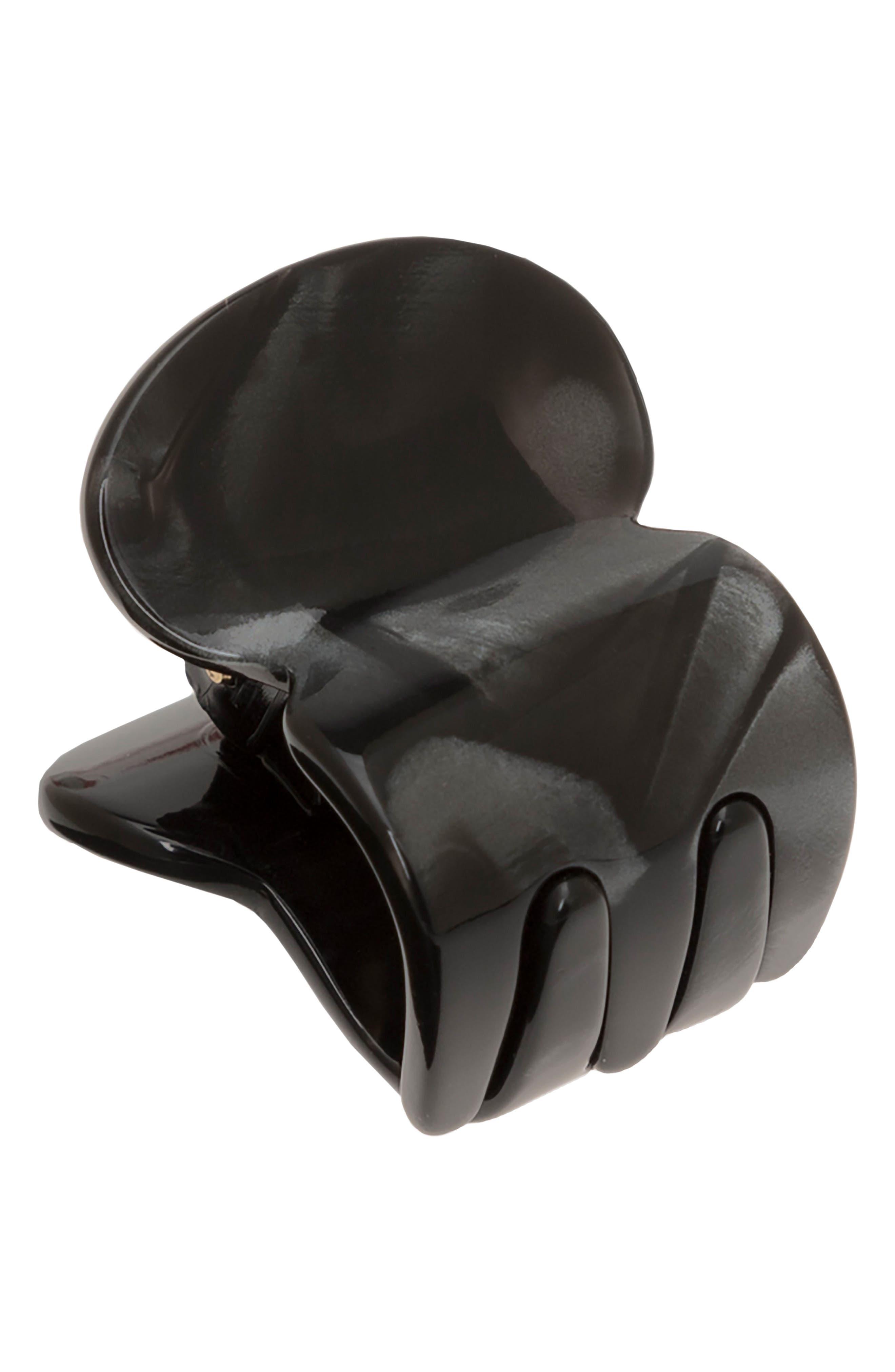 Mini Oval Jaw Clip,                         Main,                         color, 001