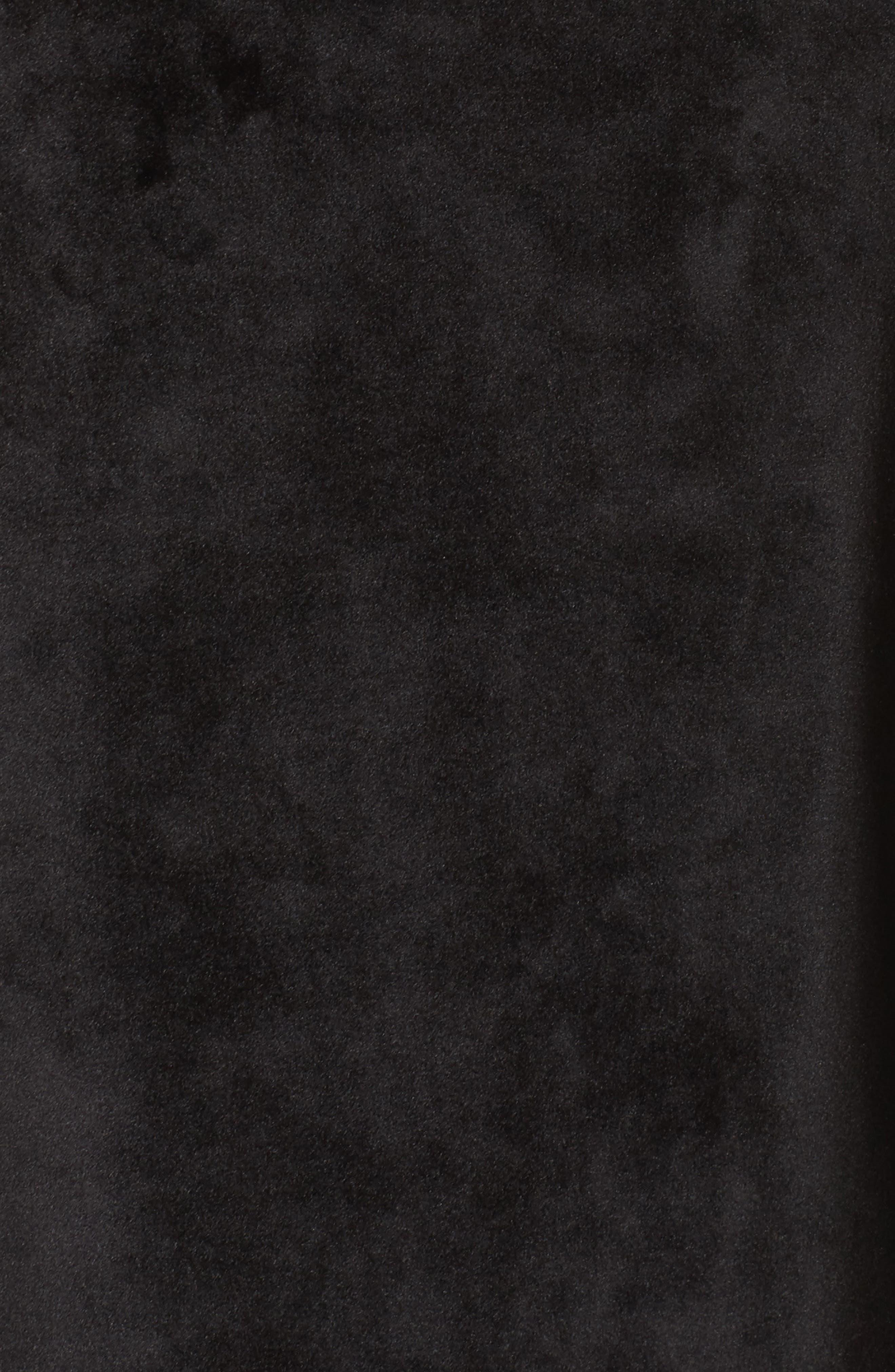 Luxury Plush Sweatshirt,                             Alternate thumbnail 5, color,                             001