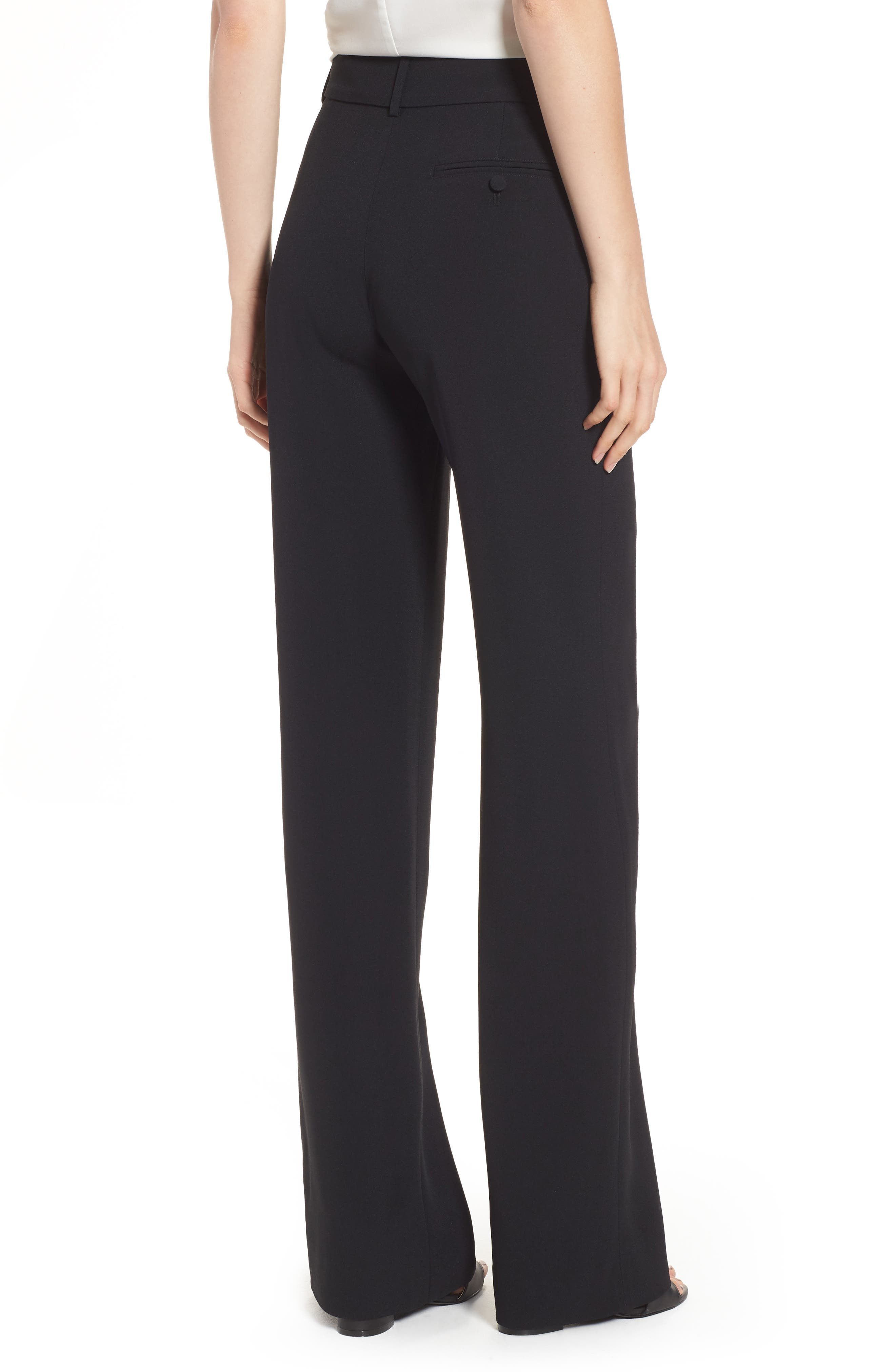 Théofil Silk Trousers,                             Alternate thumbnail 2, color,                             001