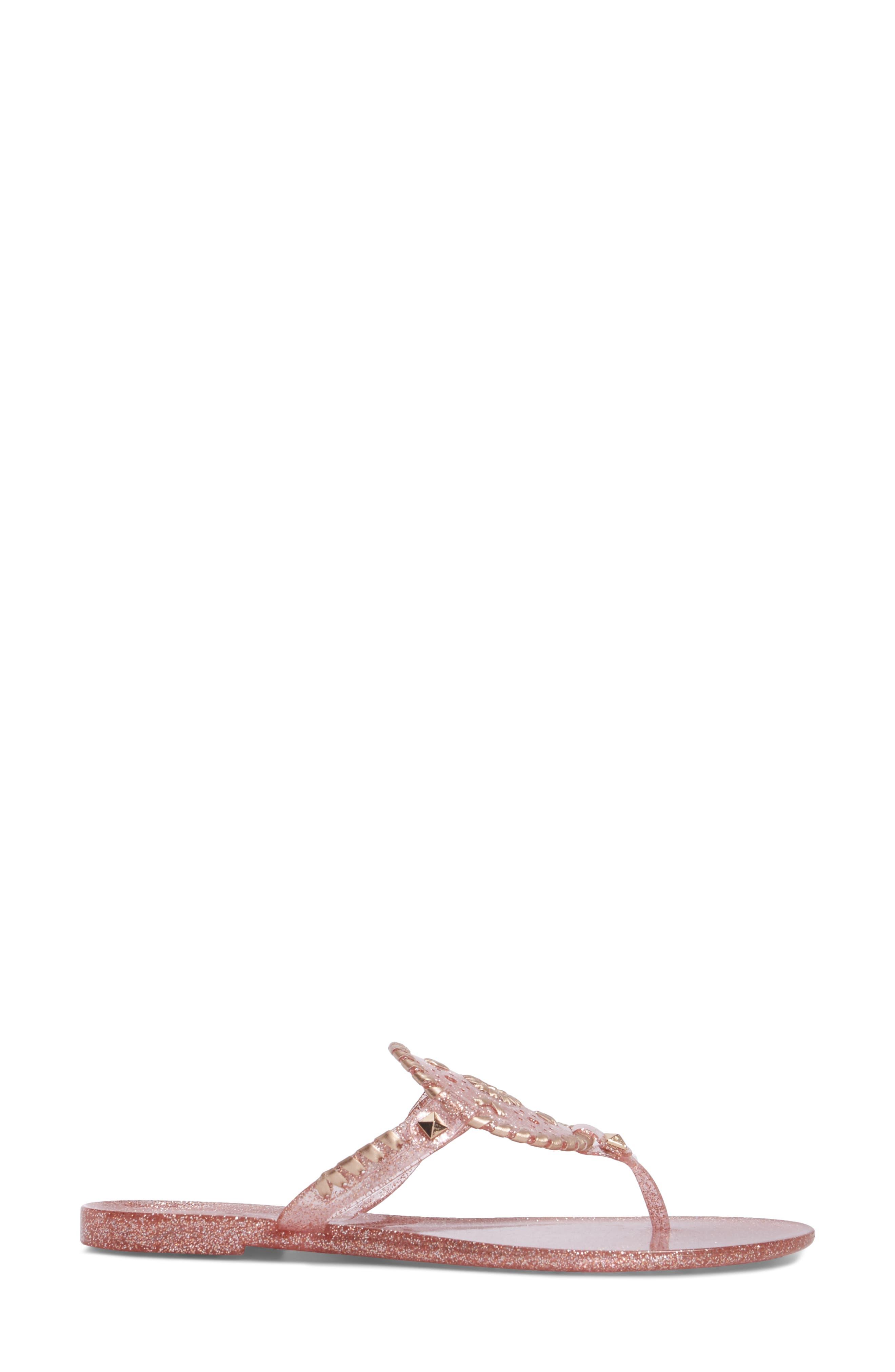 'Georgica' Jelly Flip Flop,                             Alternate thumbnail 133, color,