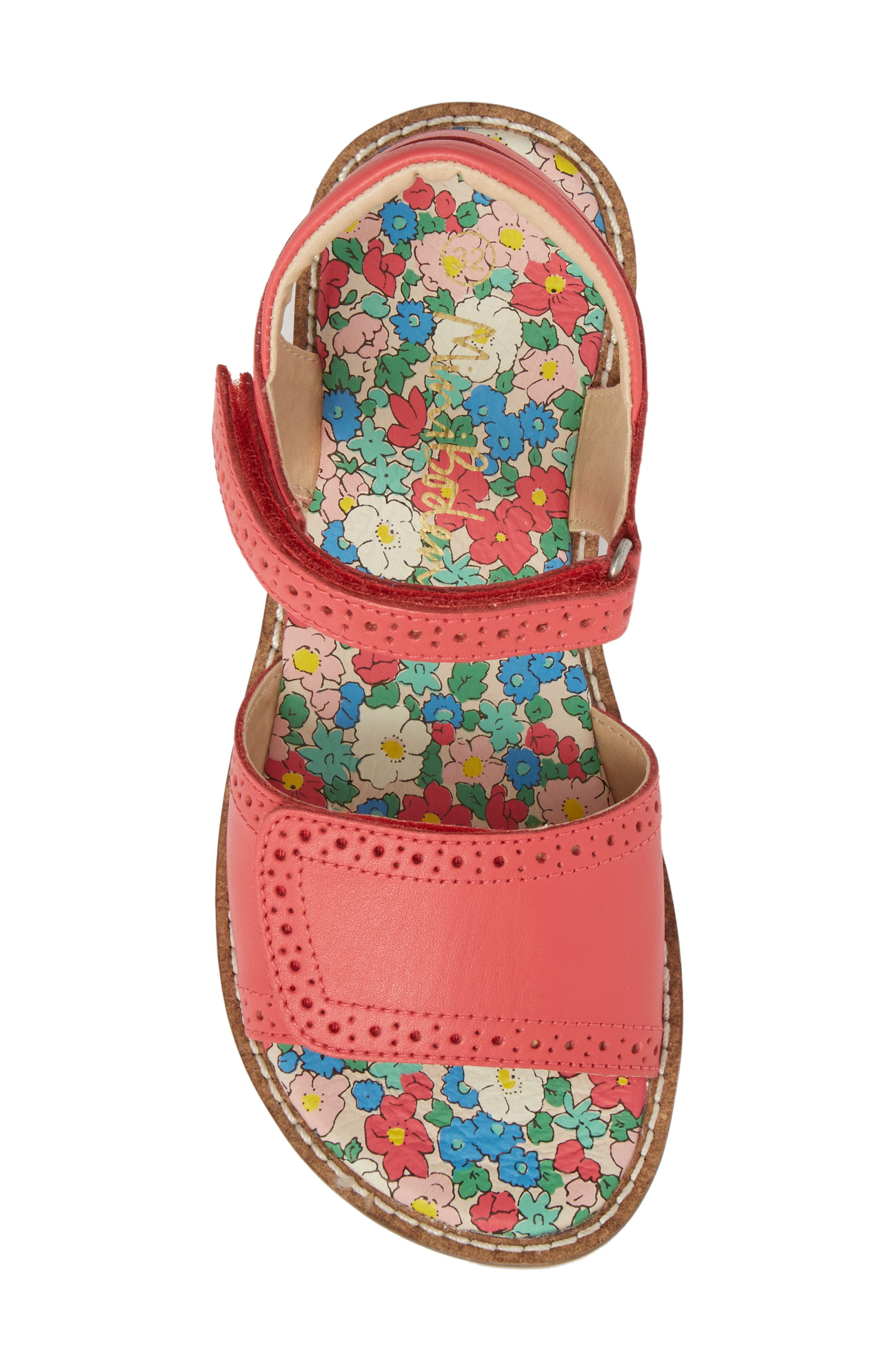 Adjustable Quarter Strap Sandal,                             Alternate thumbnail 10, color,