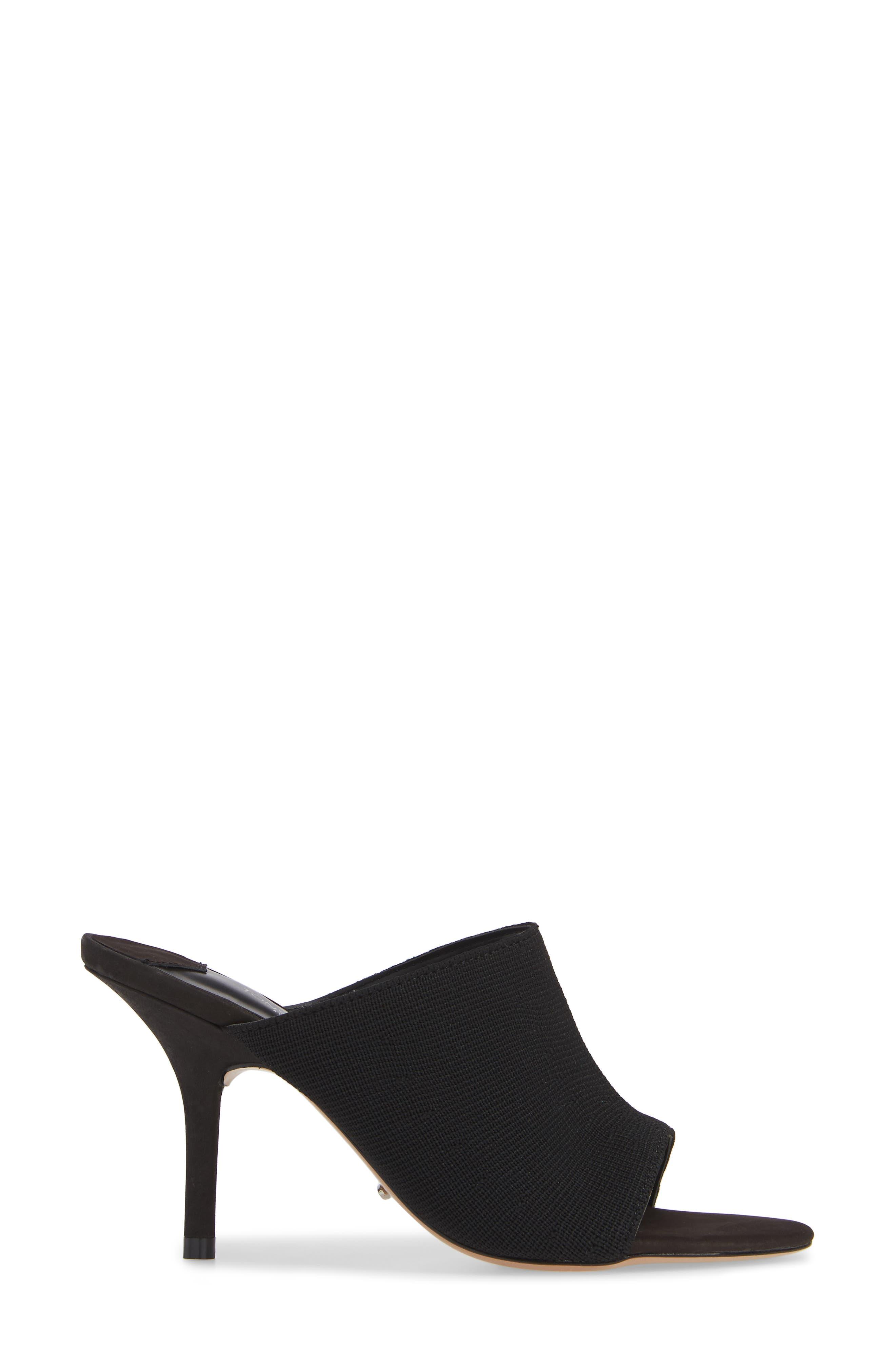 Inca Slide Sandal,                             Alternate thumbnail 3, color,                             BLACK BORDEAUX FABRIC