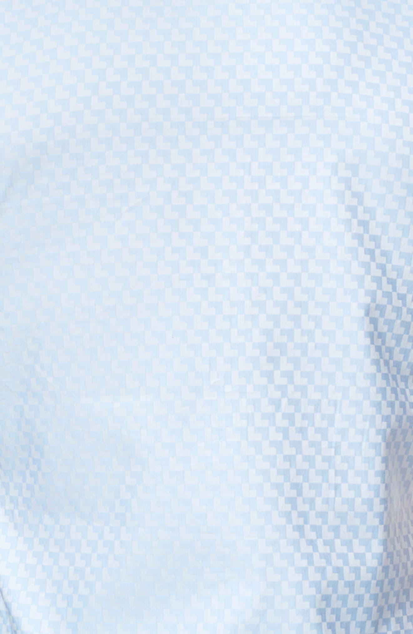 Fresh Jacquard Sport Shirt,                             Alternate thumbnail 3, color,                             450