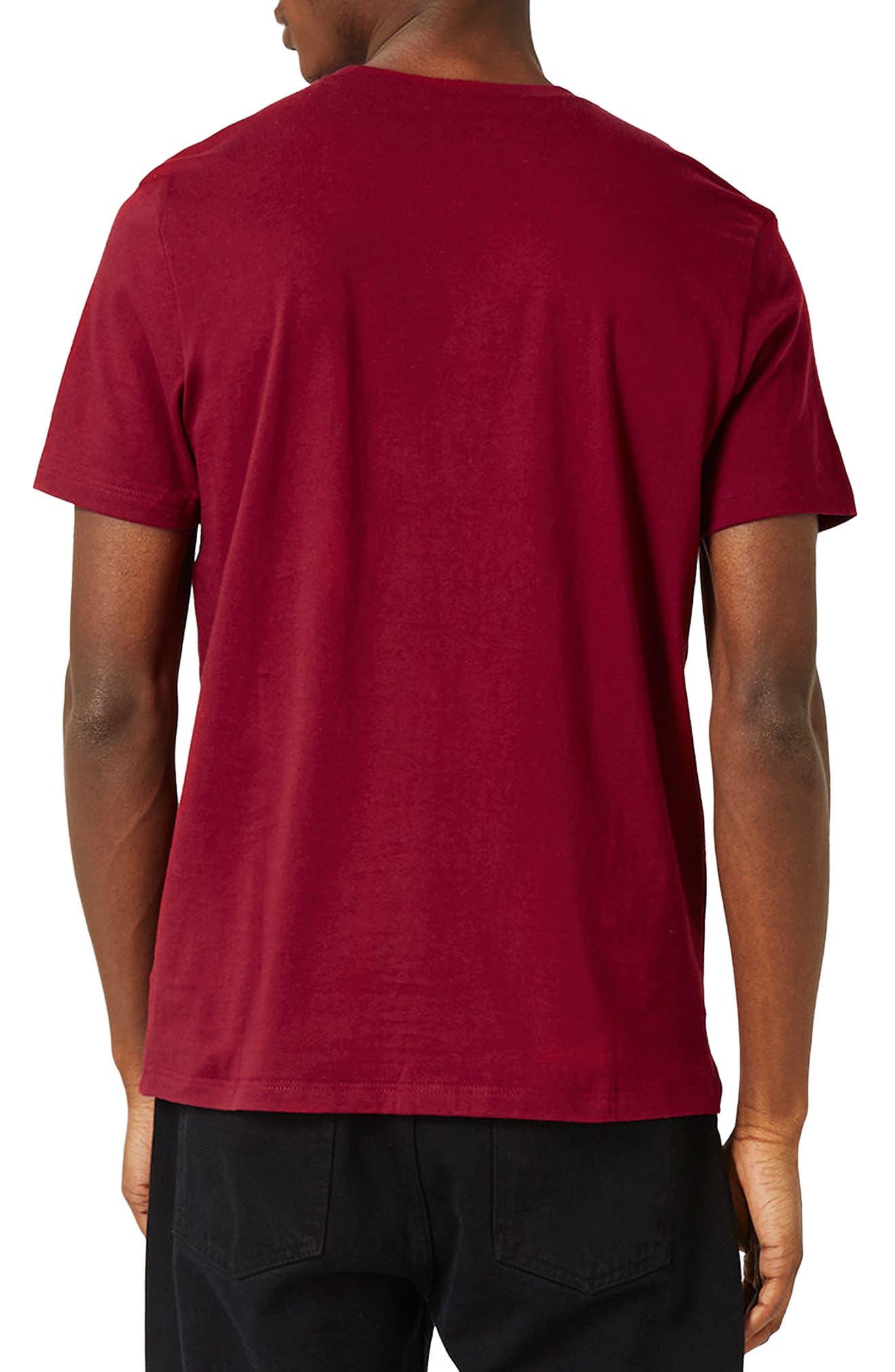 Slim Fit Crewneck T-Shirt,                             Alternate thumbnail 176, color,