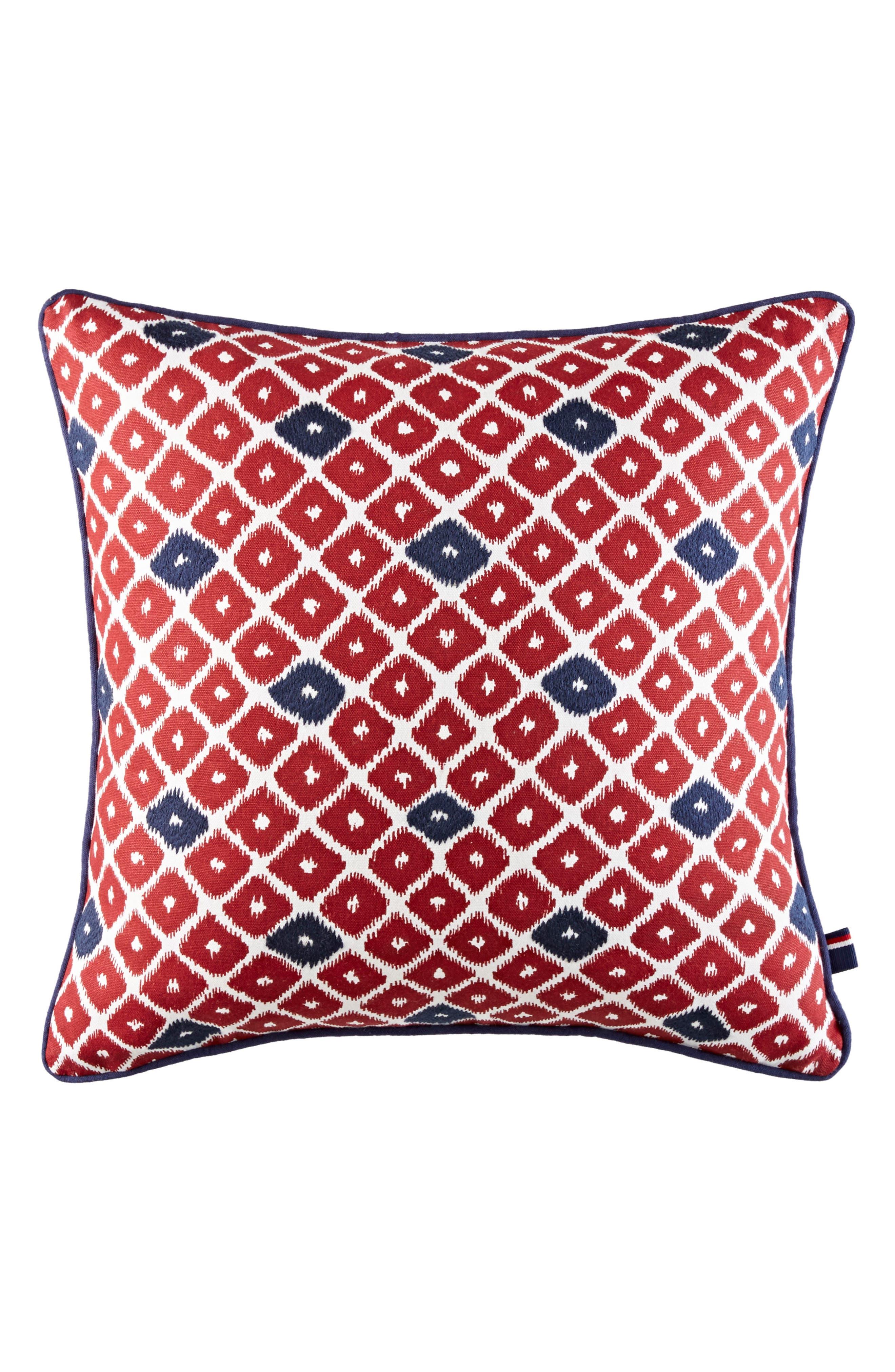 Ellis Diamond Accent Pillow,                             Alternate thumbnail 2, color,                             600