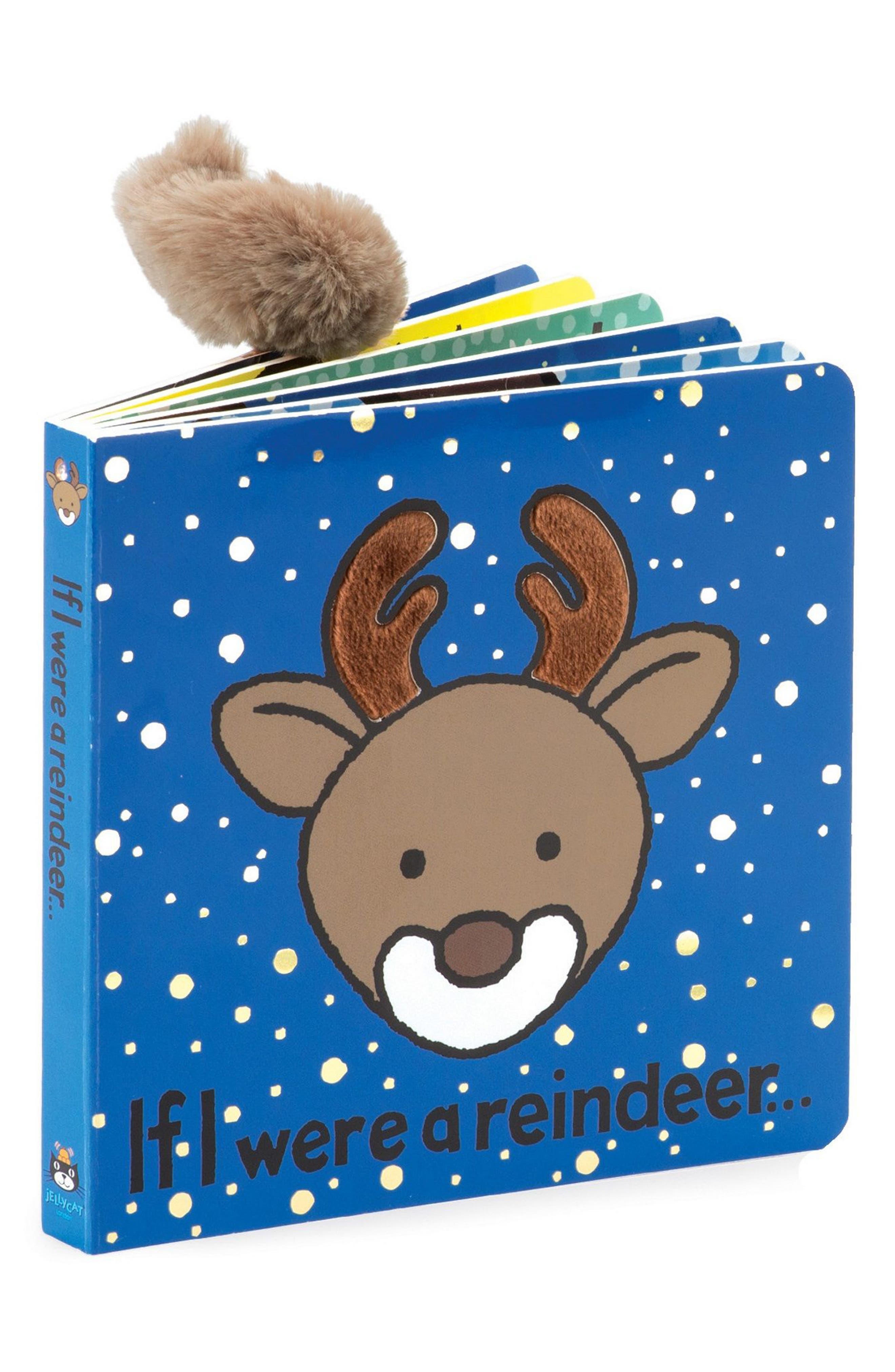 'If I Were a Reindeer' Board Book,                             Main thumbnail 1, color,                             MULTI
