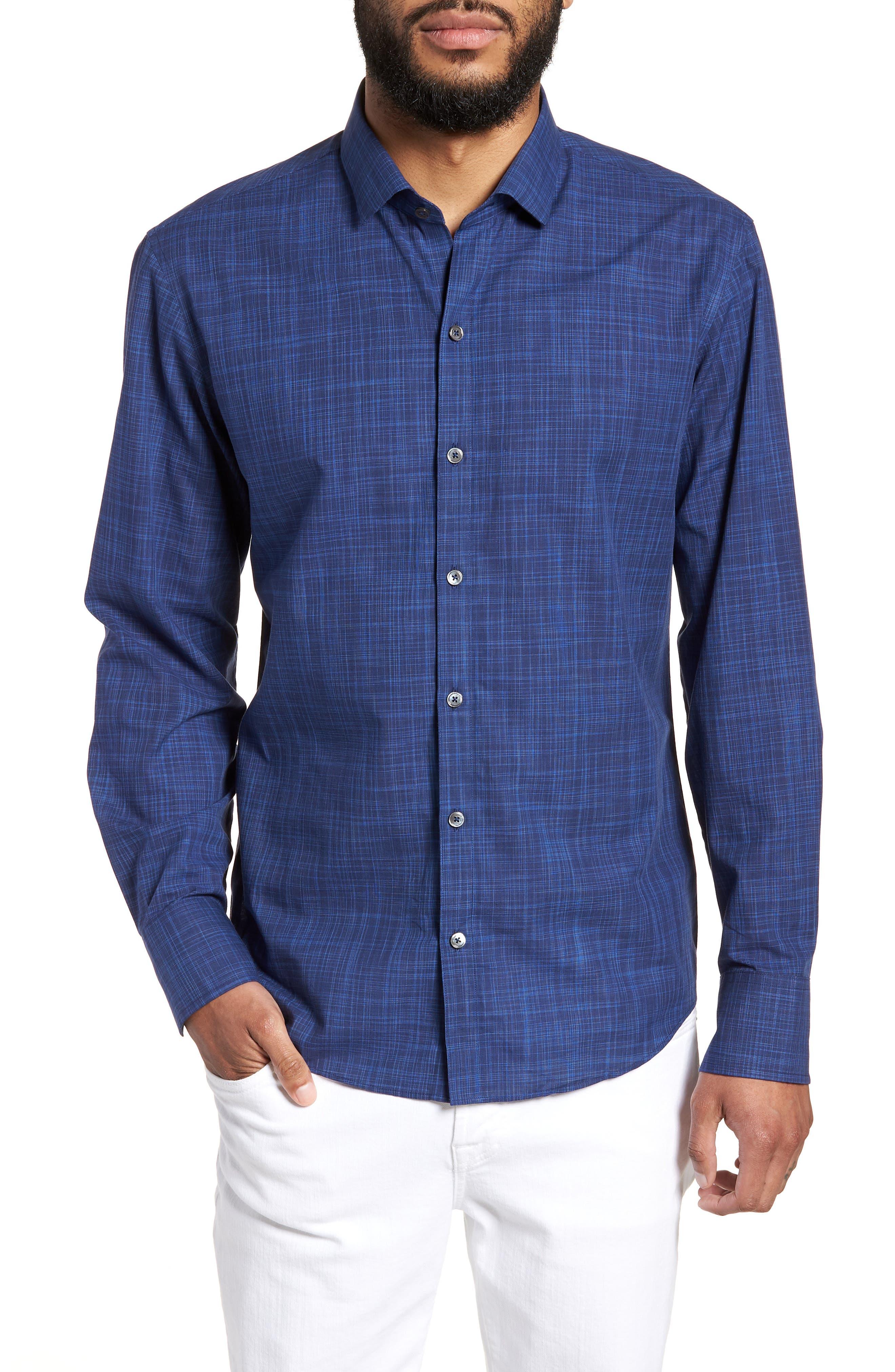 Genndy Regular Fit Sport Shirt,                         Main,                         color,