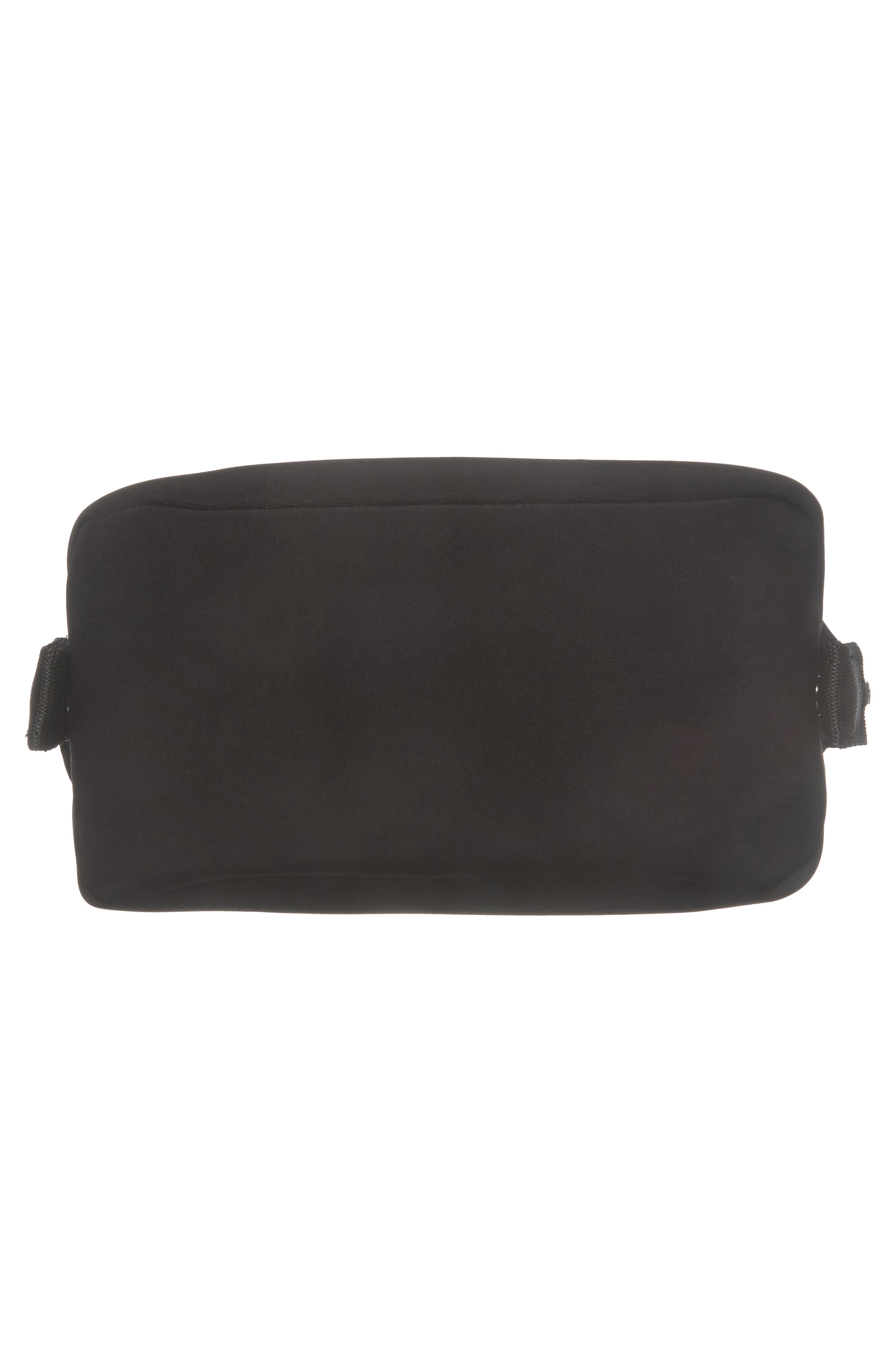 Small Hunter Neoprene Toiletry Bag,                             Alternate thumbnail 5, color,                             001