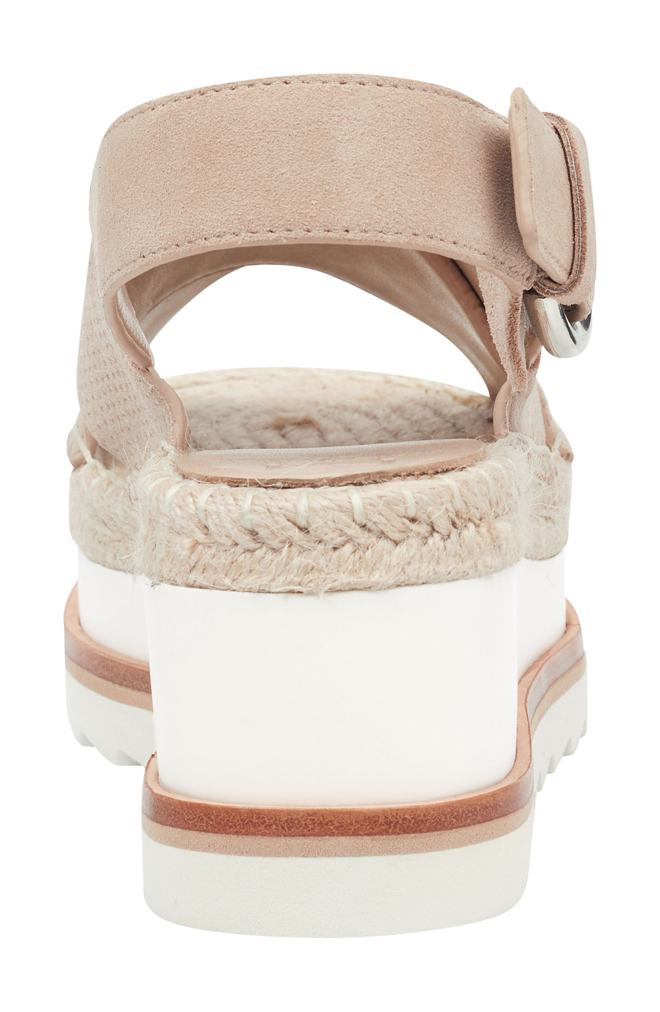 Gellyn Slingback Sandal,                             Alternate thumbnail 7, color,                             LIGHT NATURAL SUEDE