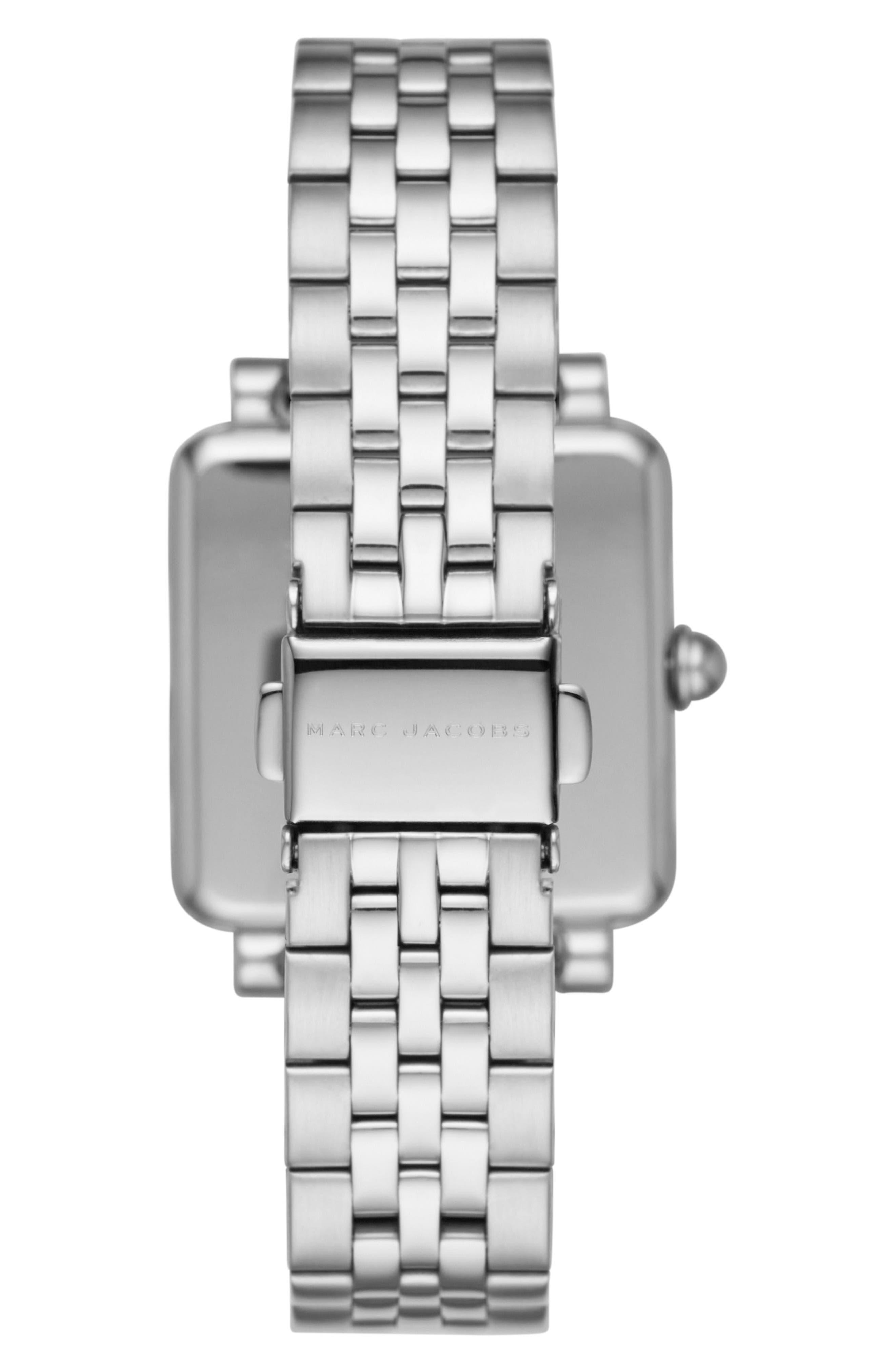 Square Vic Bracelet Watch, 30mm,                             Alternate thumbnail 2, color,                             040