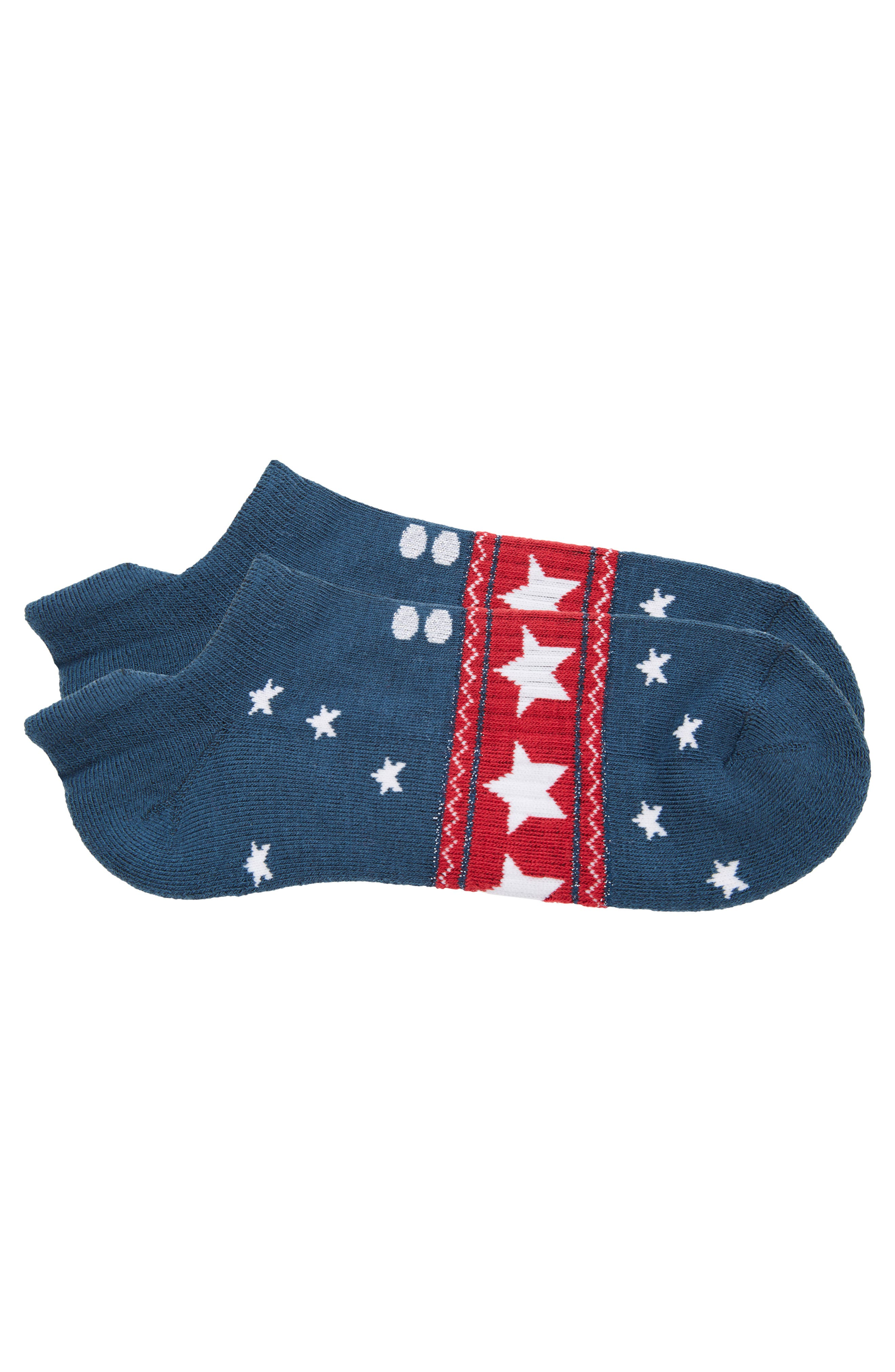 3-Pack Low-Profile Holiday Socks,                             Alternate thumbnail 5, color,                             MULTI