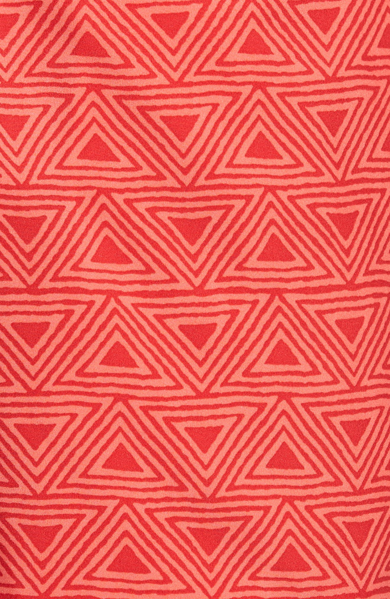 Geo Print 7-Inch Swim Trunks,                             Alternate thumbnail 5, color,                             650