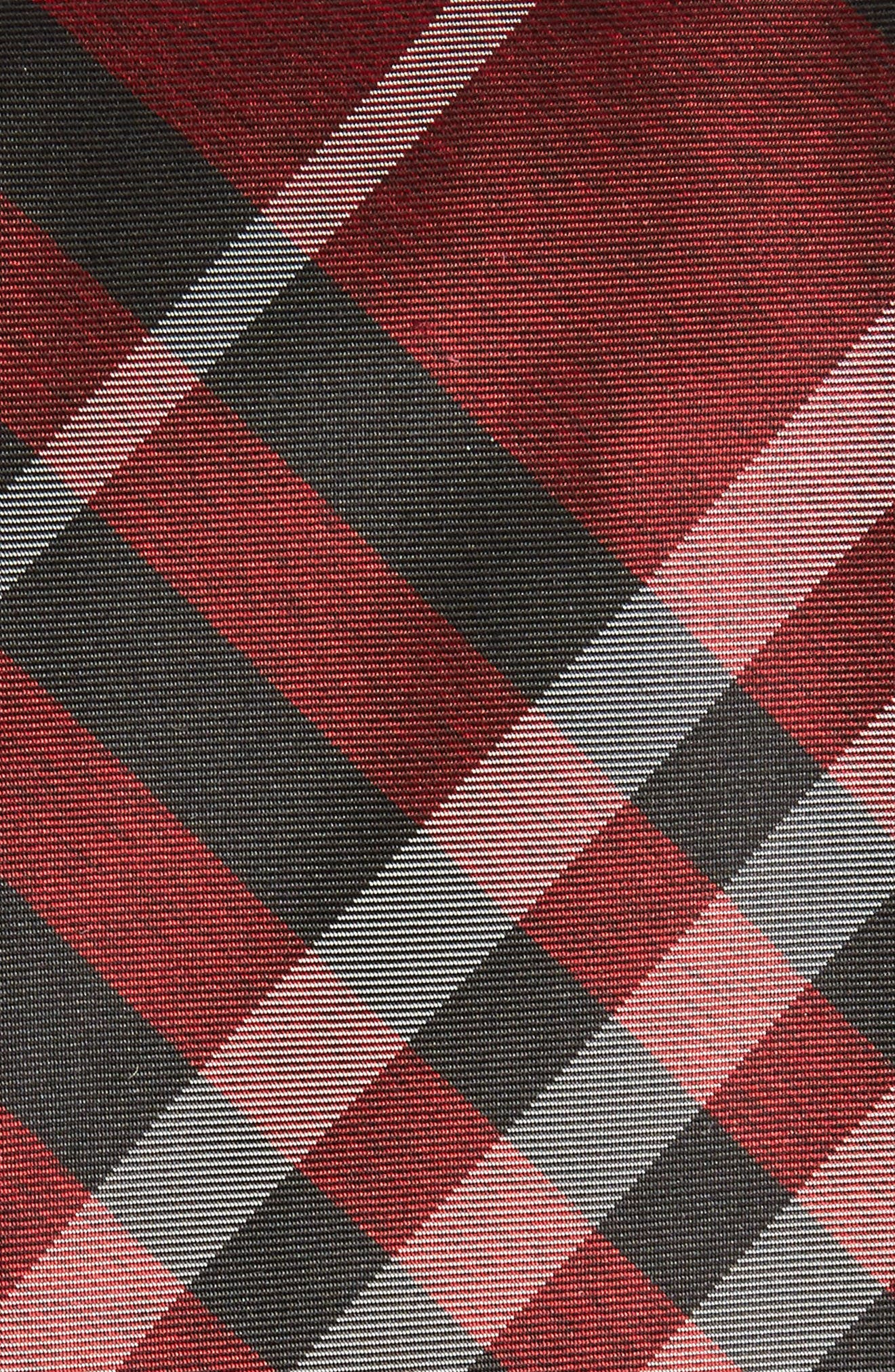 Manston Check Silk Tie,                             Alternate thumbnail 2, color,                             600