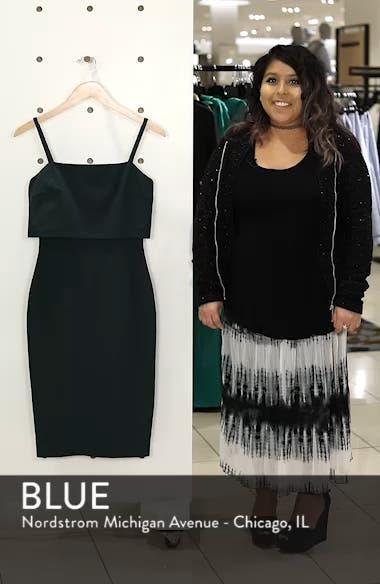 Popover Midi Body-Con Dress, sales video thumbnail