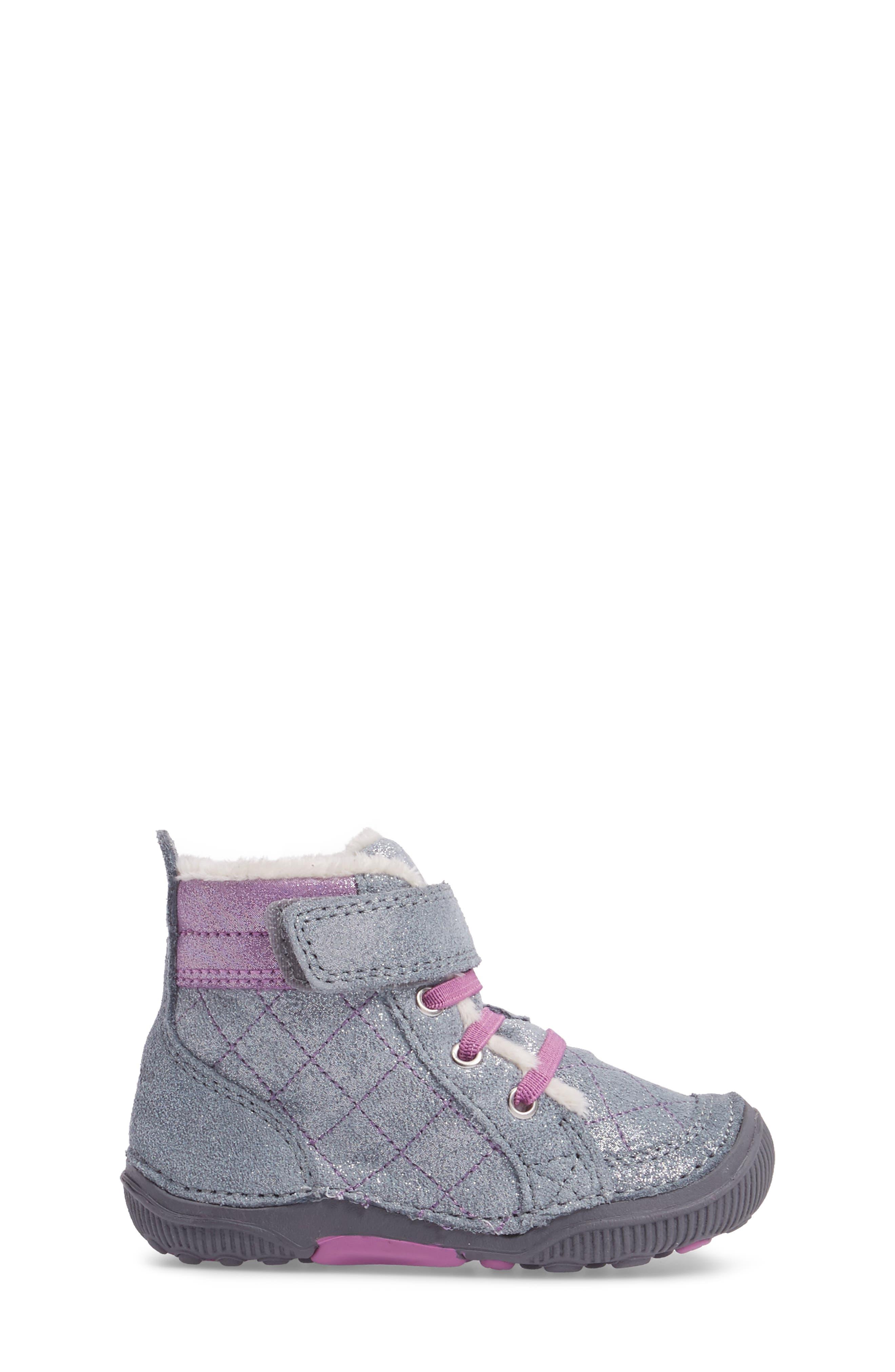 SRtech<sup>™</sup> Phoebe Faux Fur Boot,                             Alternate thumbnail 3, color,                             040