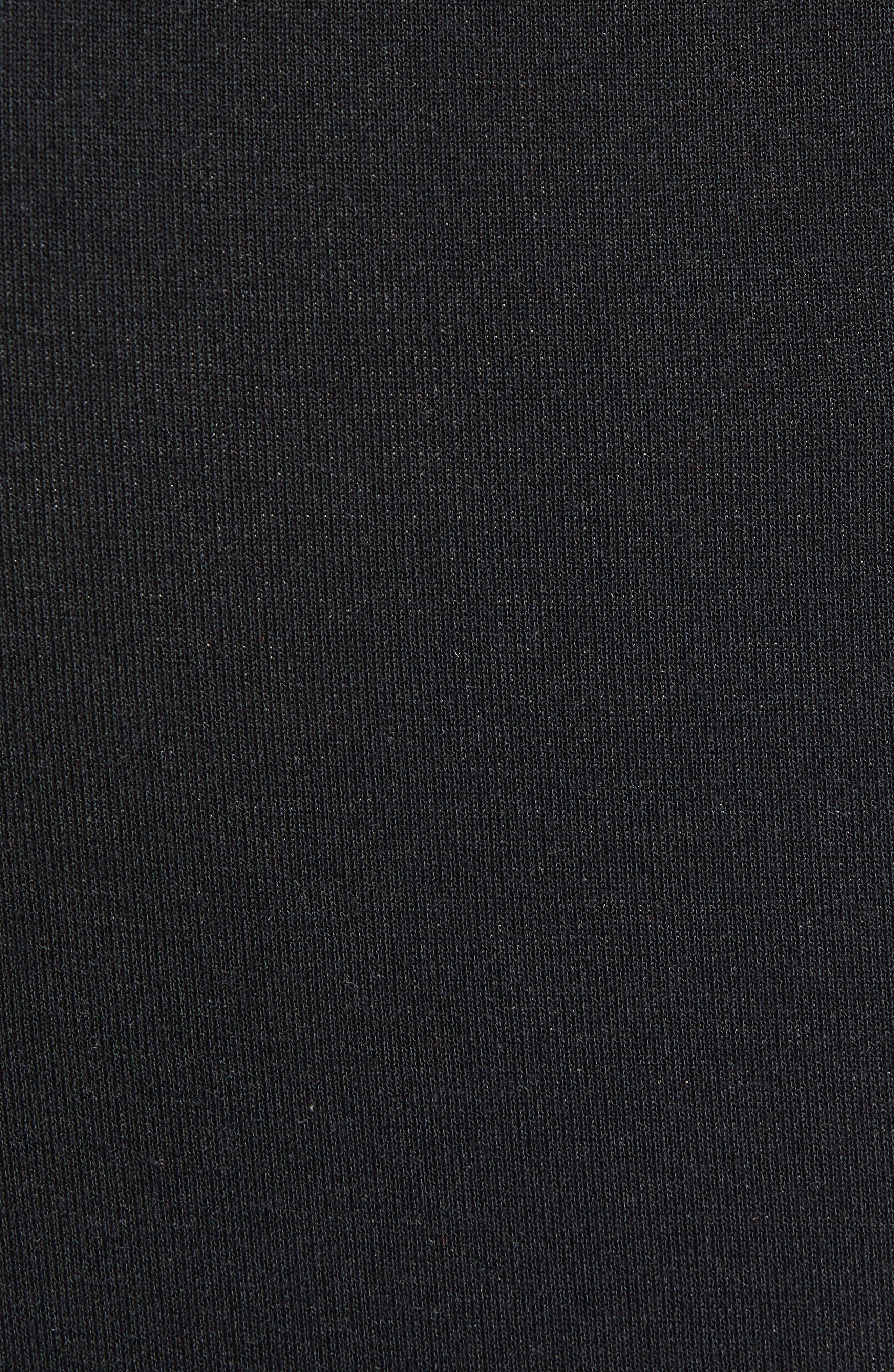 CALVIN KLEIN,                             Stretch Modal Lounge Pants,                             Alternate thumbnail 5, color,                             BLACK