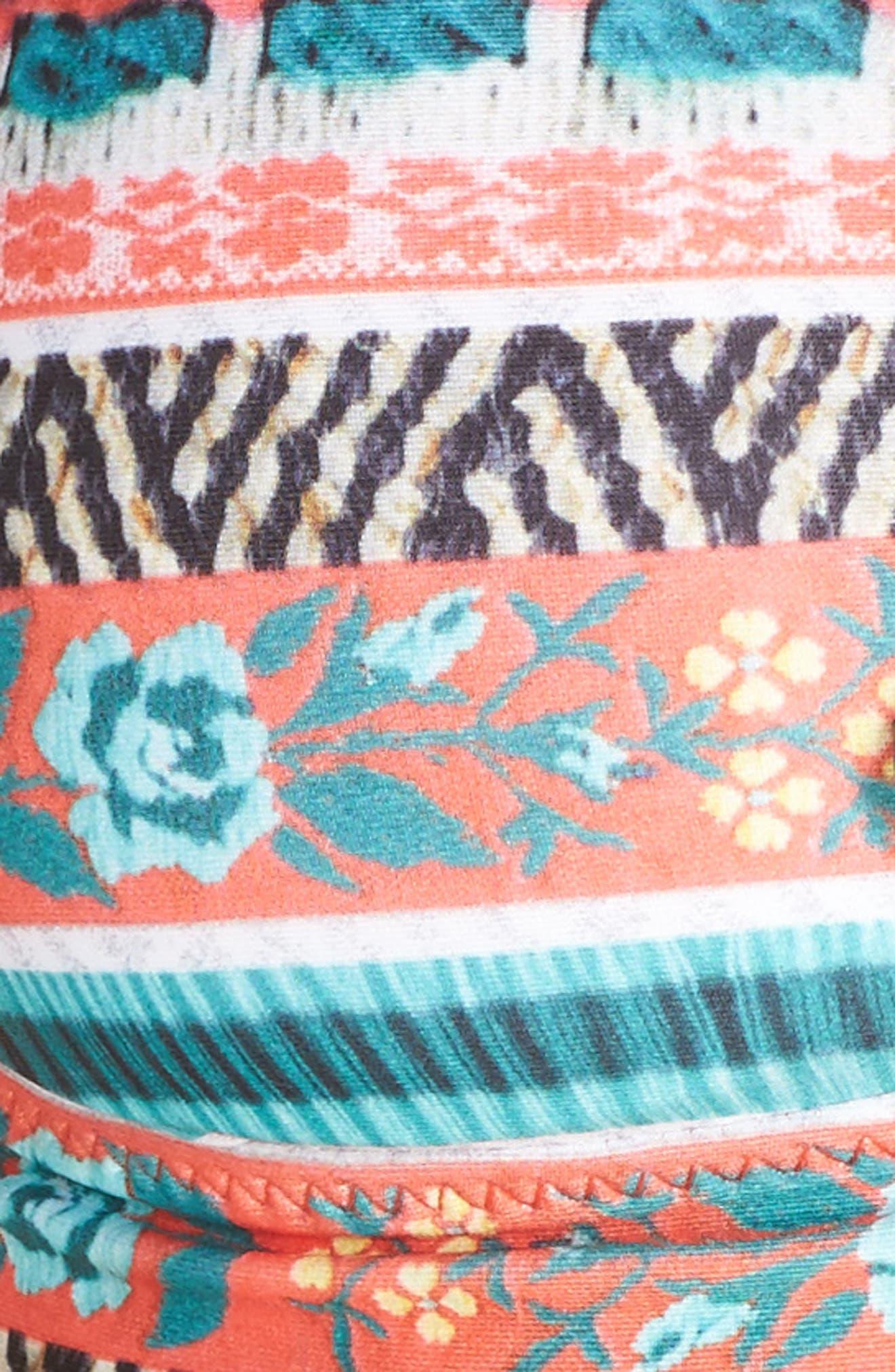 Tapestry Bikini Top,                             Alternate thumbnail 5, color,                             800