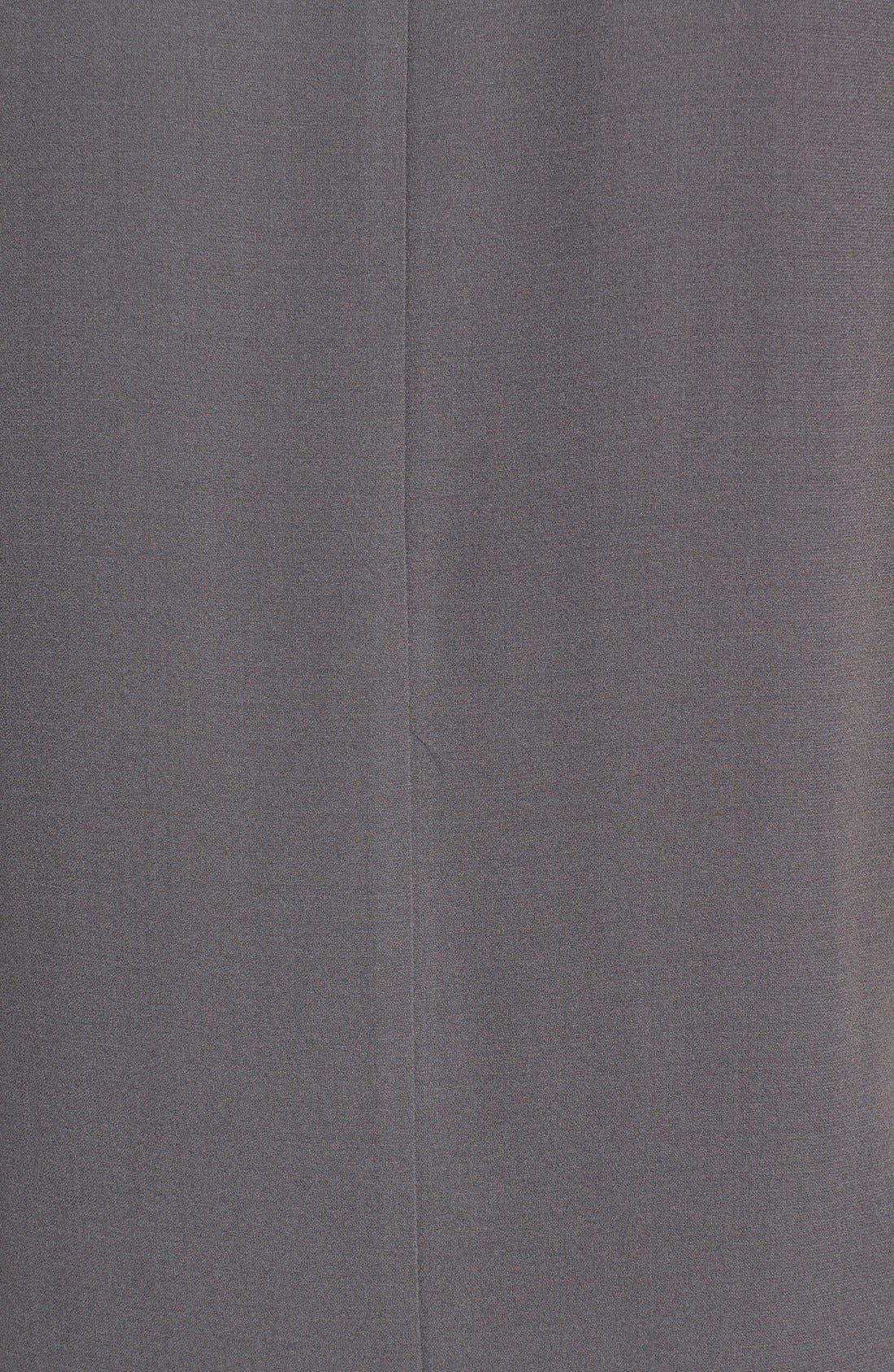 Silk Crepe High Neck Sleeveless Blouse,                             Alternate thumbnail 33, color,