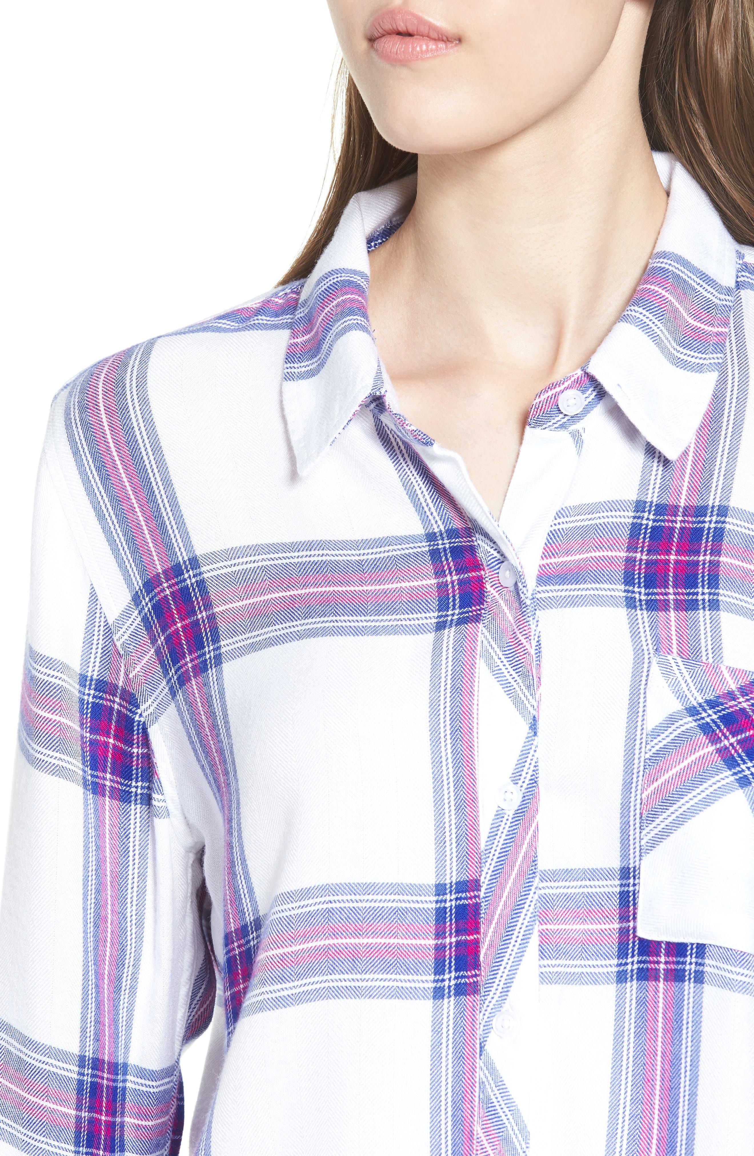 Hunter Plaid Shirt,                             Alternate thumbnail 448, color,