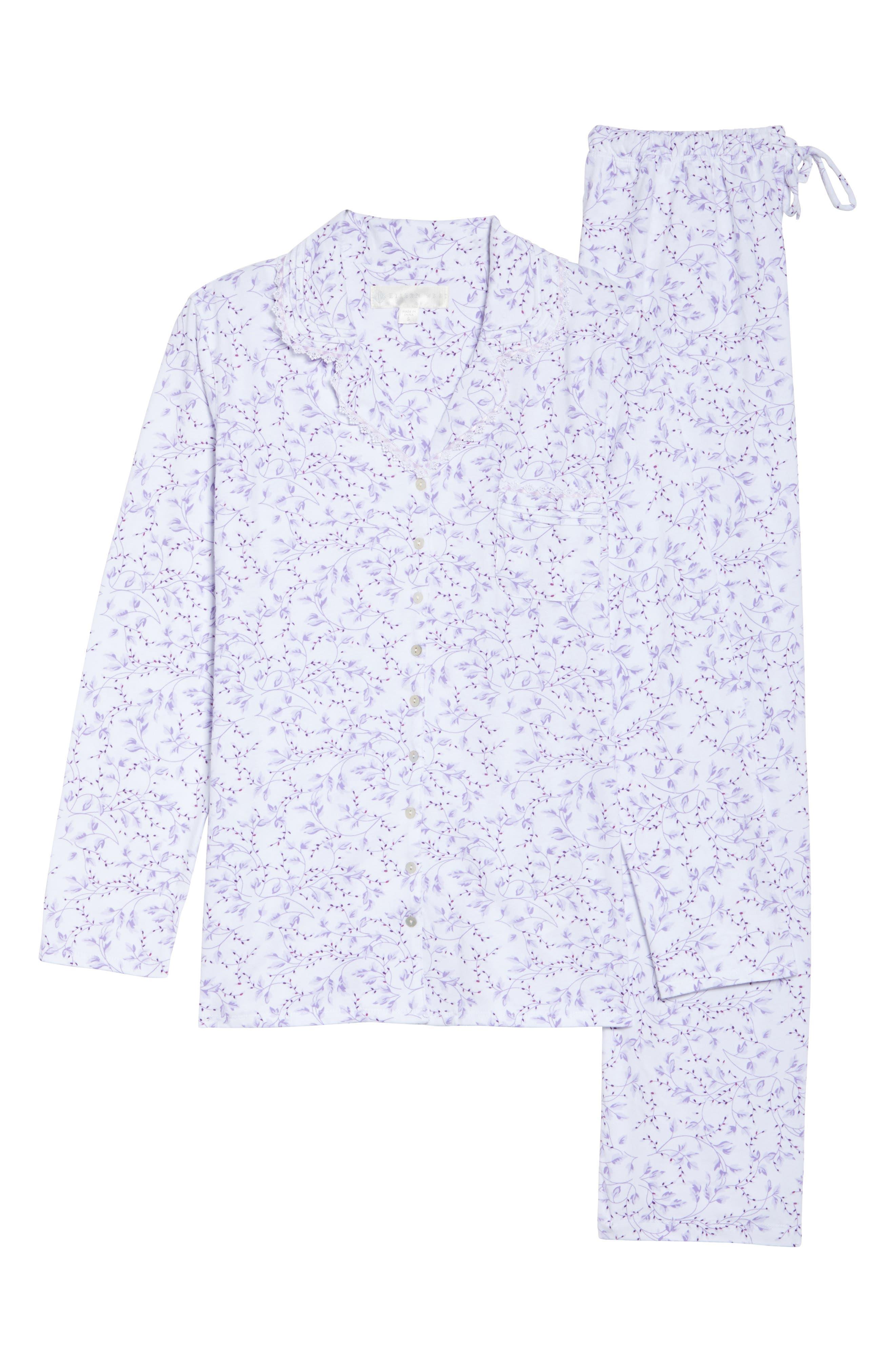 Notch Collar Pajamas,                             Alternate thumbnail 6, color,                             110