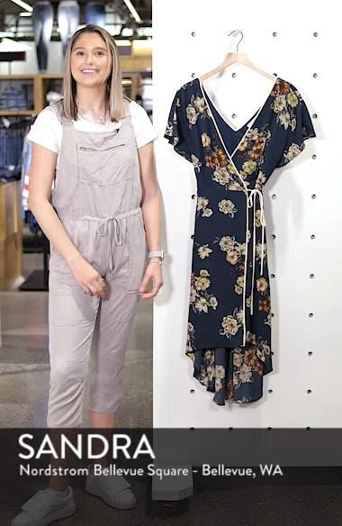 Floral Wrap Dress, sales video thumbnail