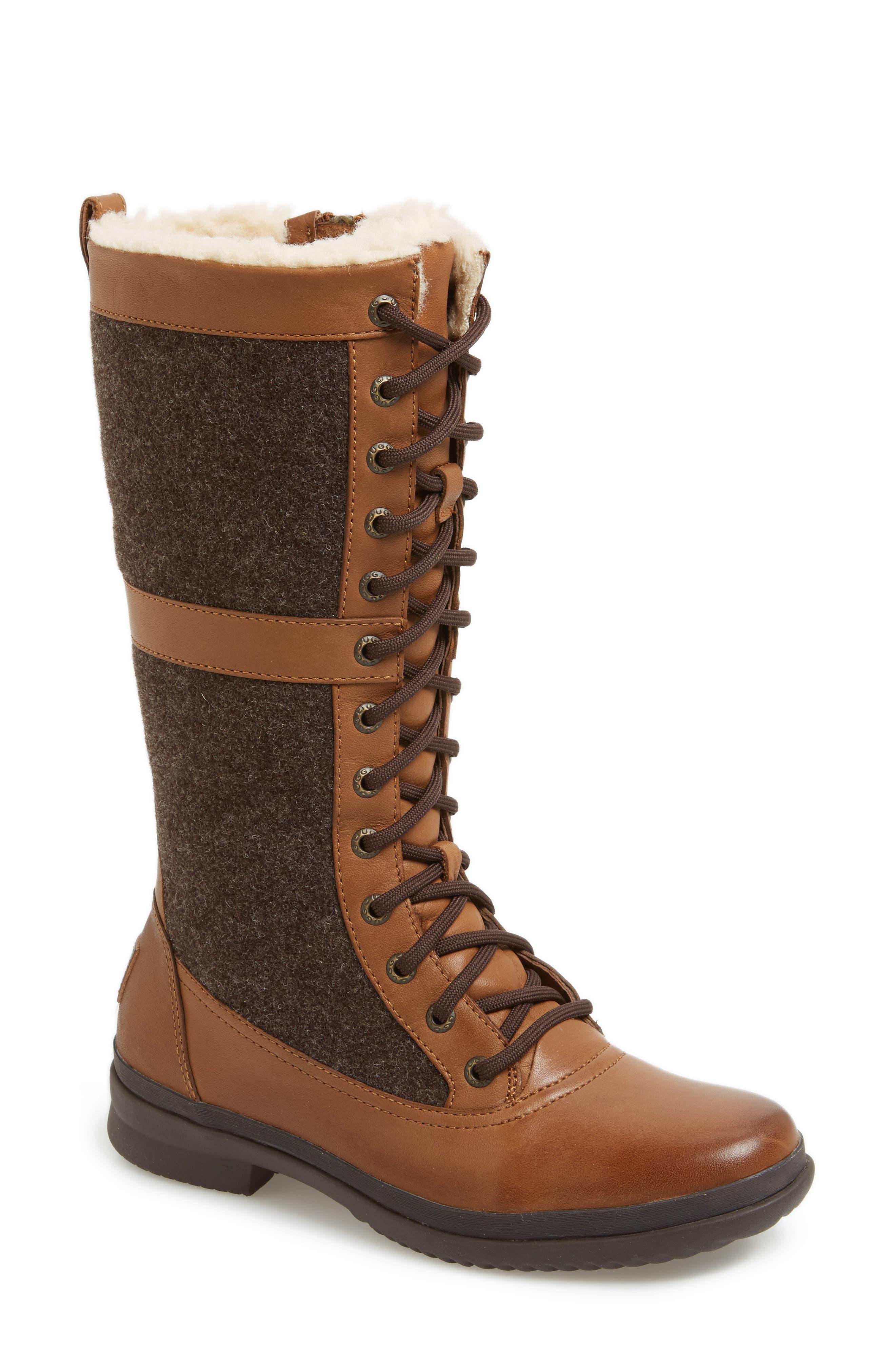 Elvia Waterproof Tall Boot,                             Main thumbnail 3, color,