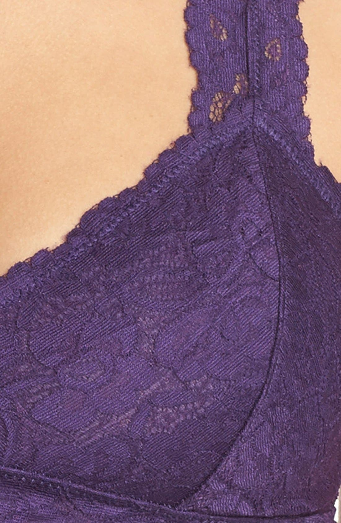 Racerback Galloon Lace Bralette,                             Alternate thumbnail 72, color,