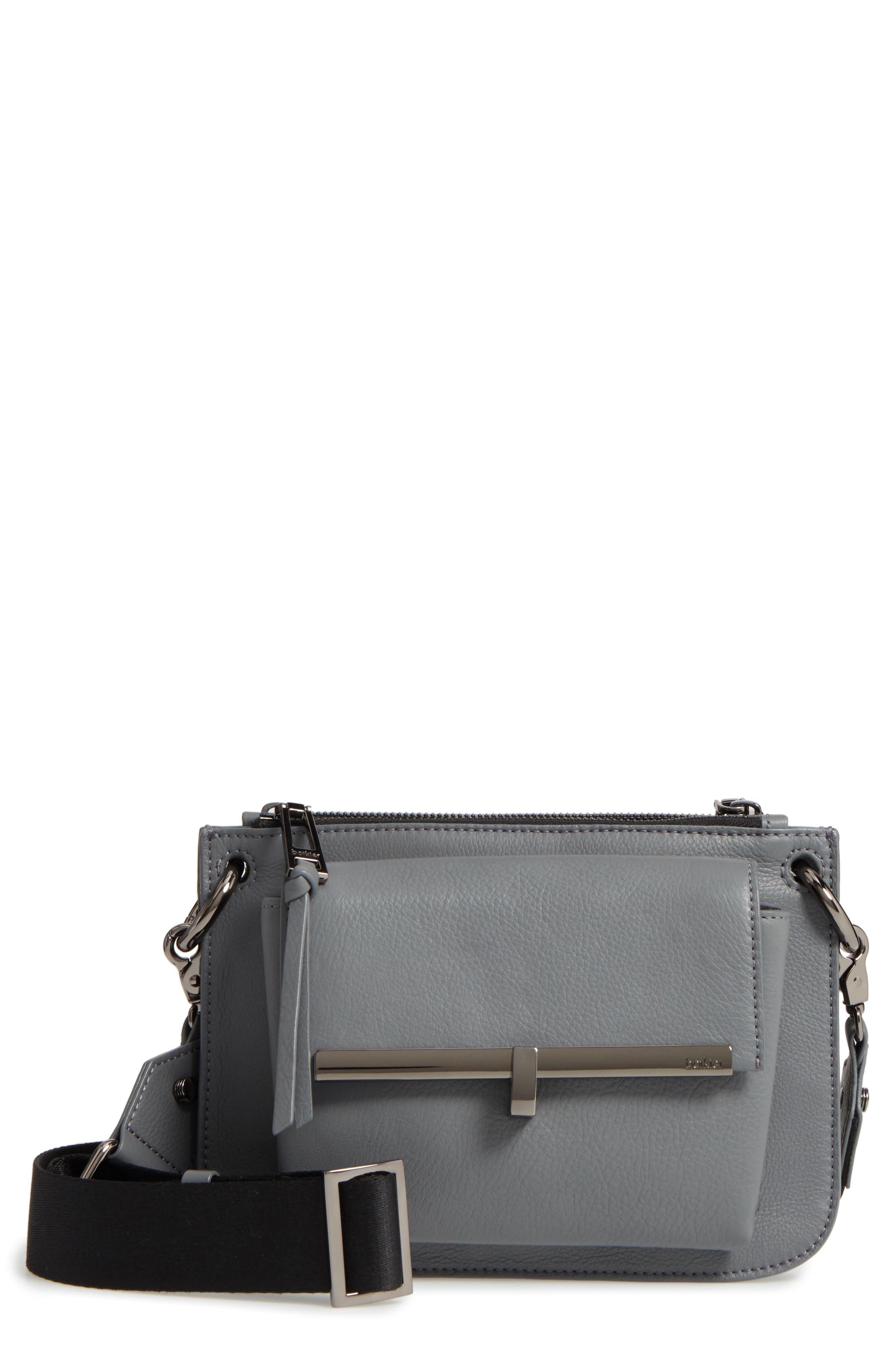Bleeker Leather Double Shoulder Bag,                             Main thumbnail 3, color,