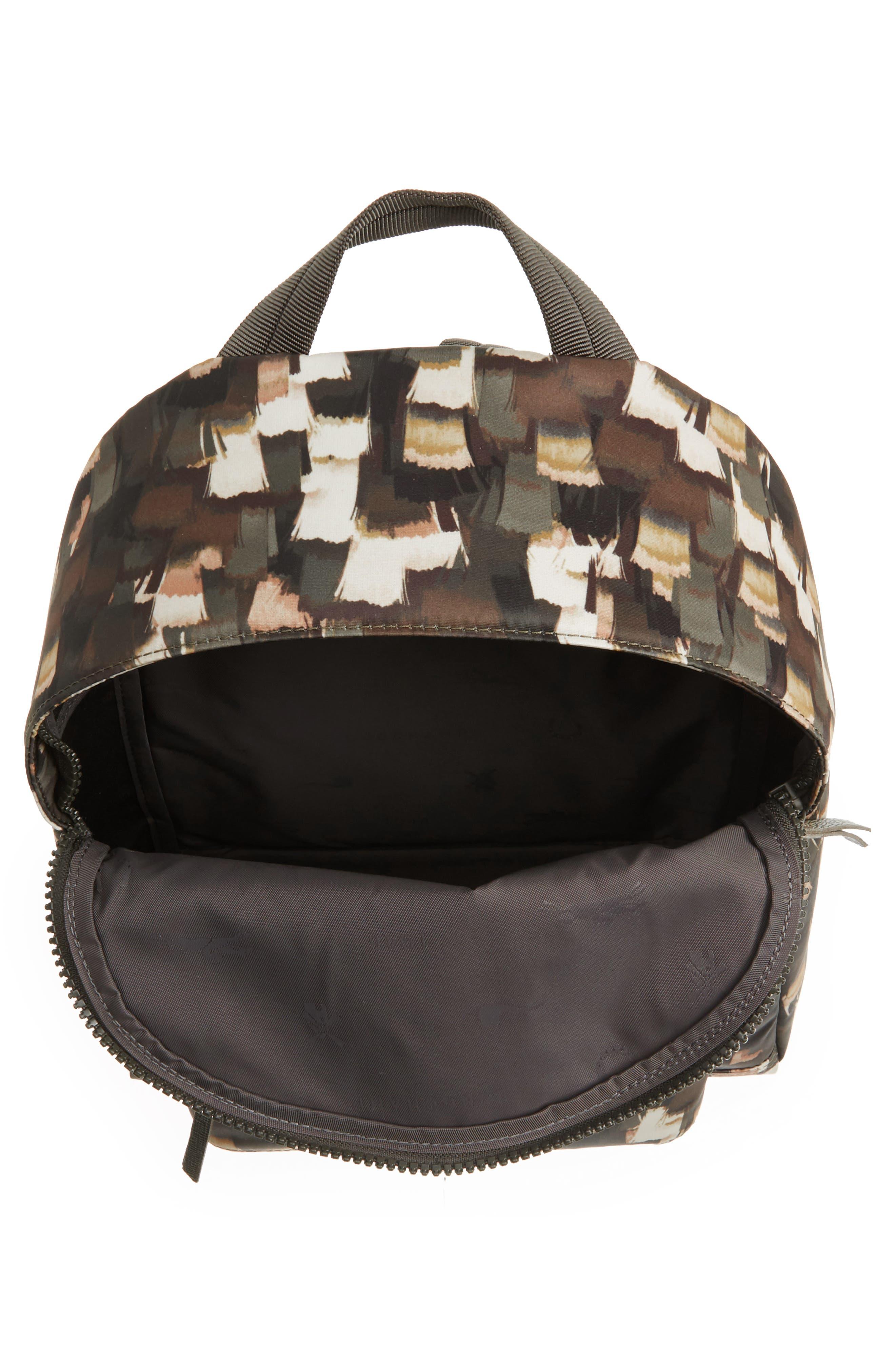 Le Pliage Neo - Vibrations Nylon Backpack,                             Alternate thumbnail 4, color,                             300